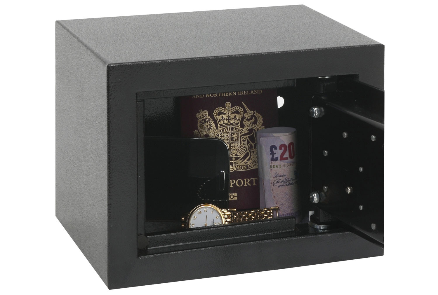 Phoenix SS0721K Compact Home Office Safe With Key Lock (5ltrs)