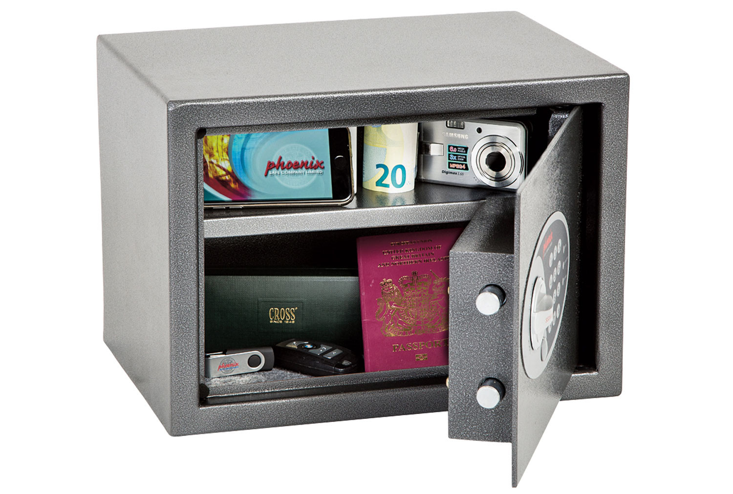 Phoenix Vela SS0802E Home Office Safe With Electronic Lock (17ltrs)