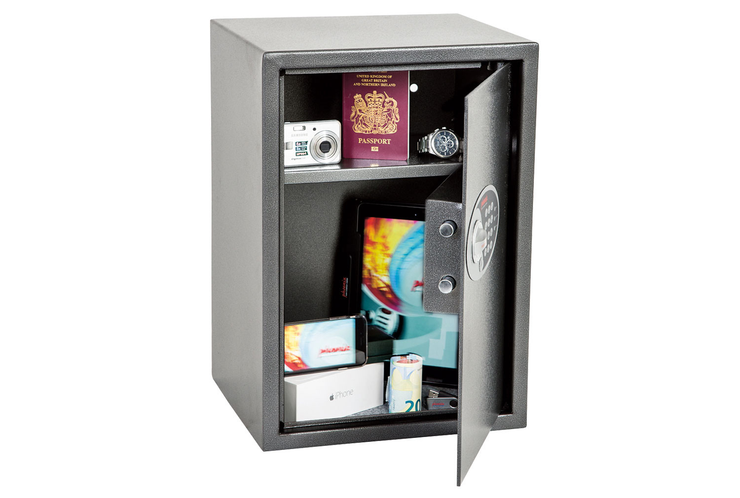 Phoenix Vela SS0804E Home Office Safe With Electronic Lock (51ltrs)