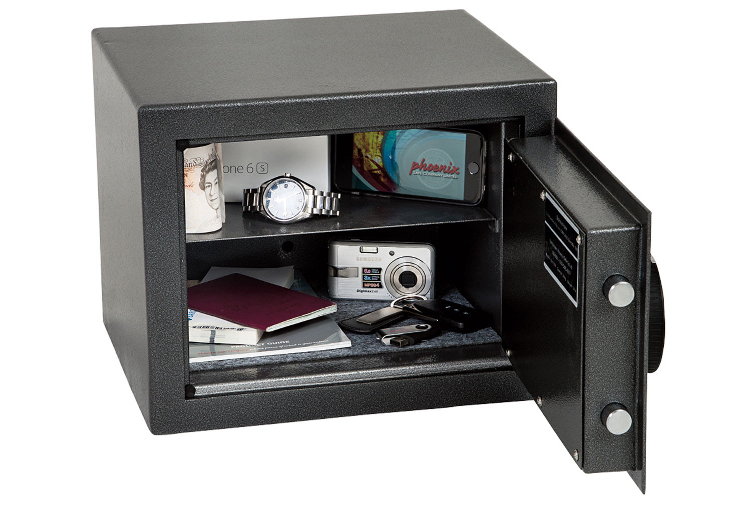 Phoenix Lynx SS1171E Security Safe With Electronic Lock (11ltrs)