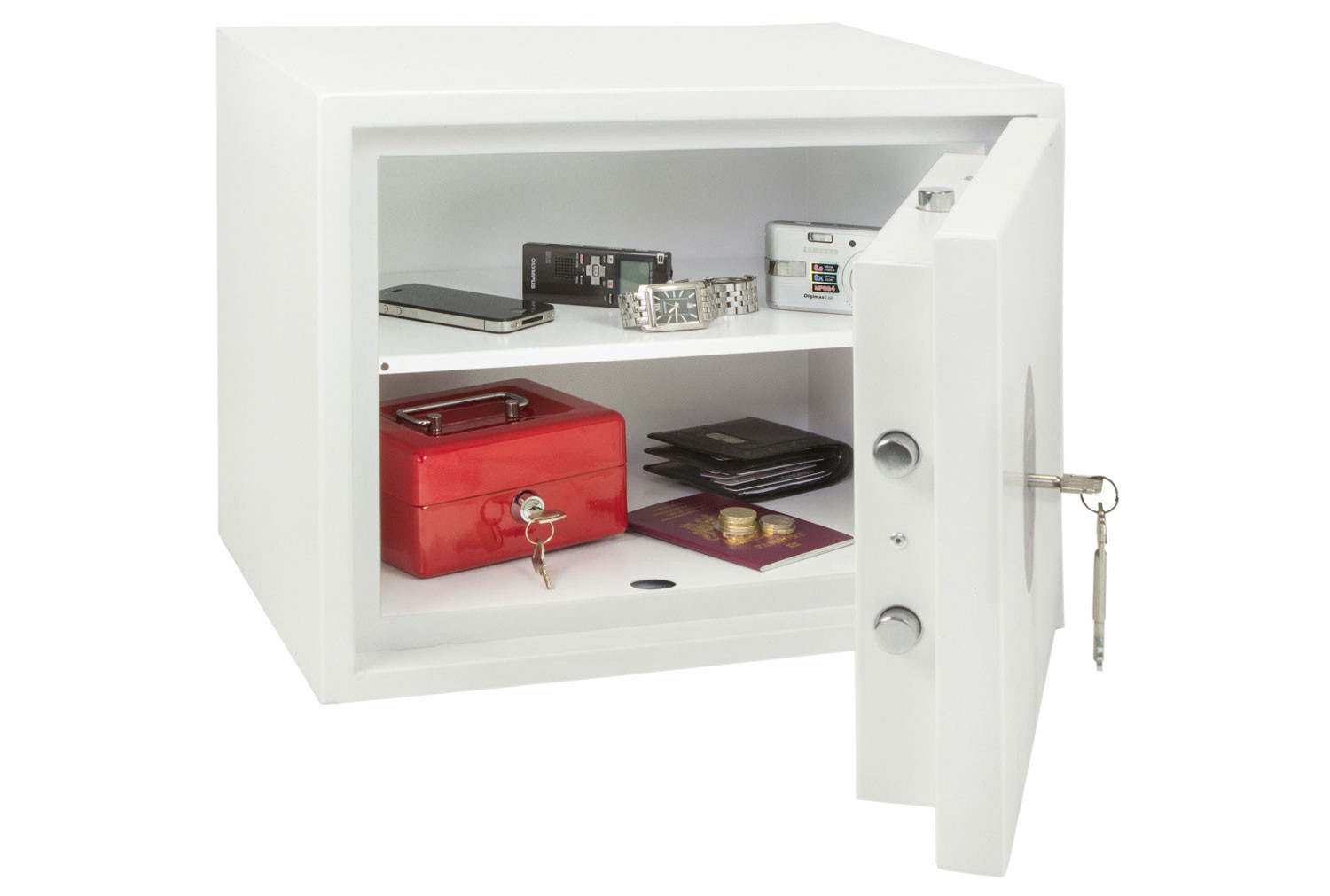 Phoenix Fortress SS1182K Security Safe With Key Lock (24ltrs)