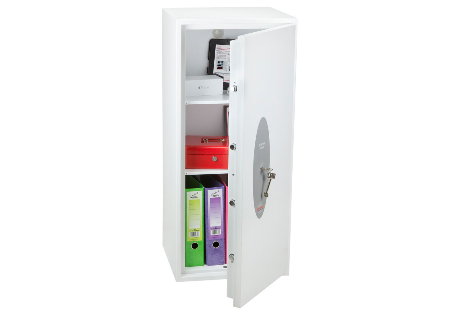Phoenix Fortress SS1185K Security Safe With Key Lock (99ltrs)