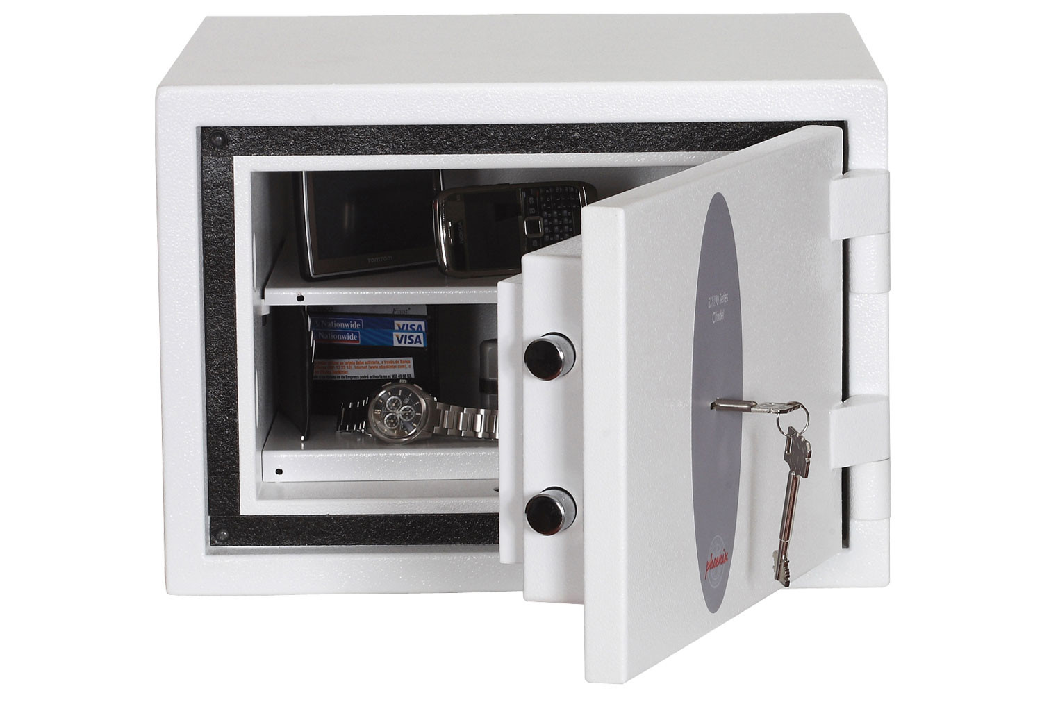 Phoenix Citadel SS1191K Security Safe With Key Lock (18ltrs)