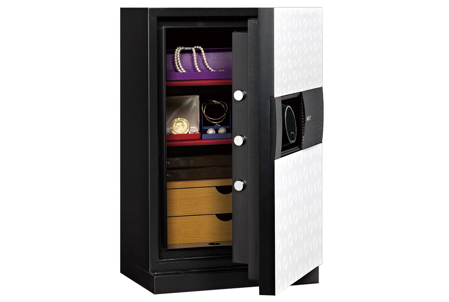 Phoenix Next LS7002FO Luxury Safe White (72ltrs)