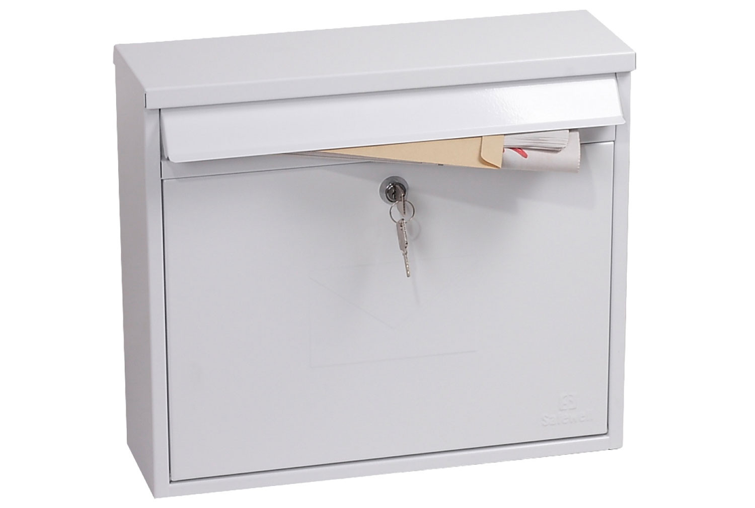 Phoenix Correo MB0118KW Front Loading Mail Box White