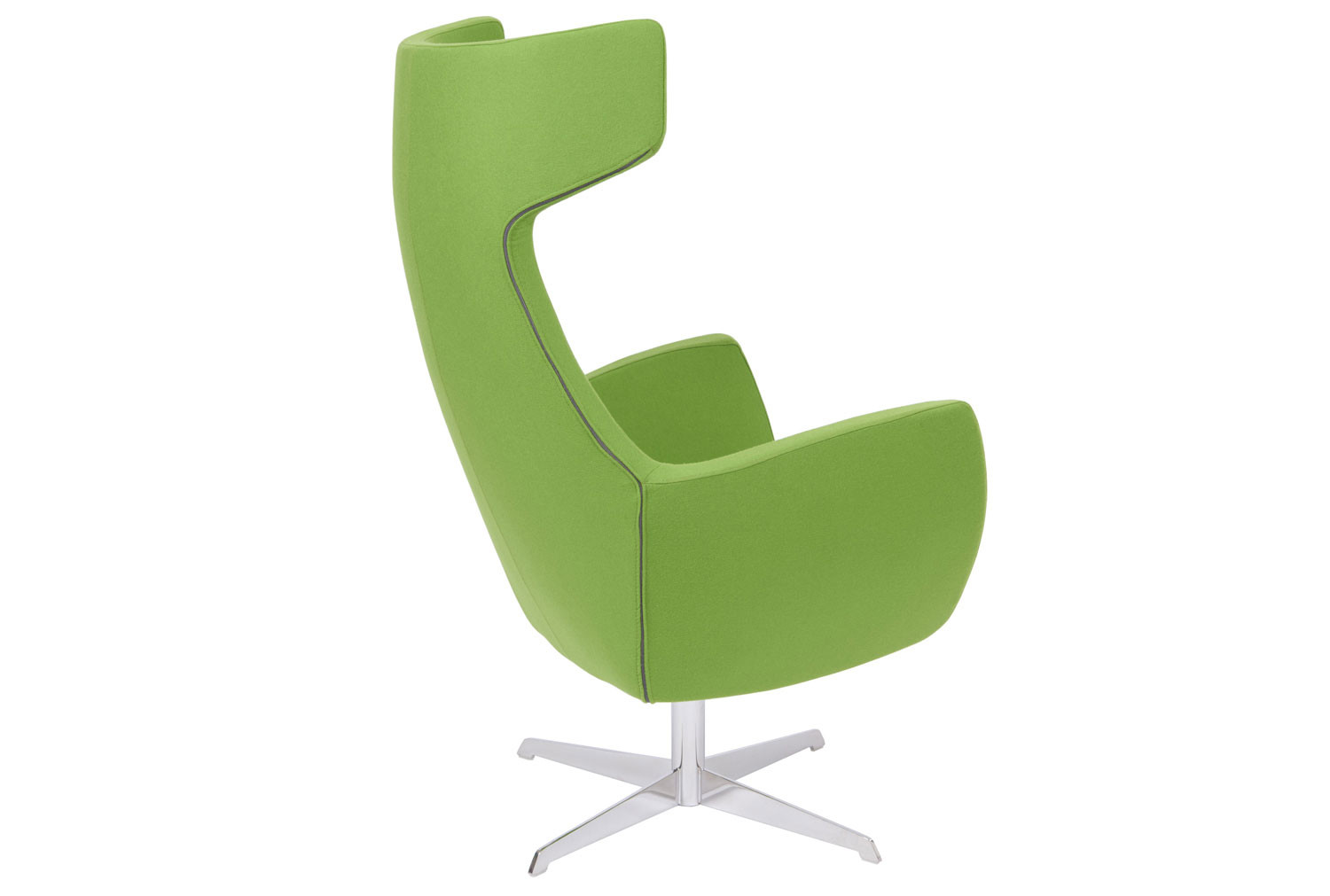 Layla Lounge Chair With Swivel Frame