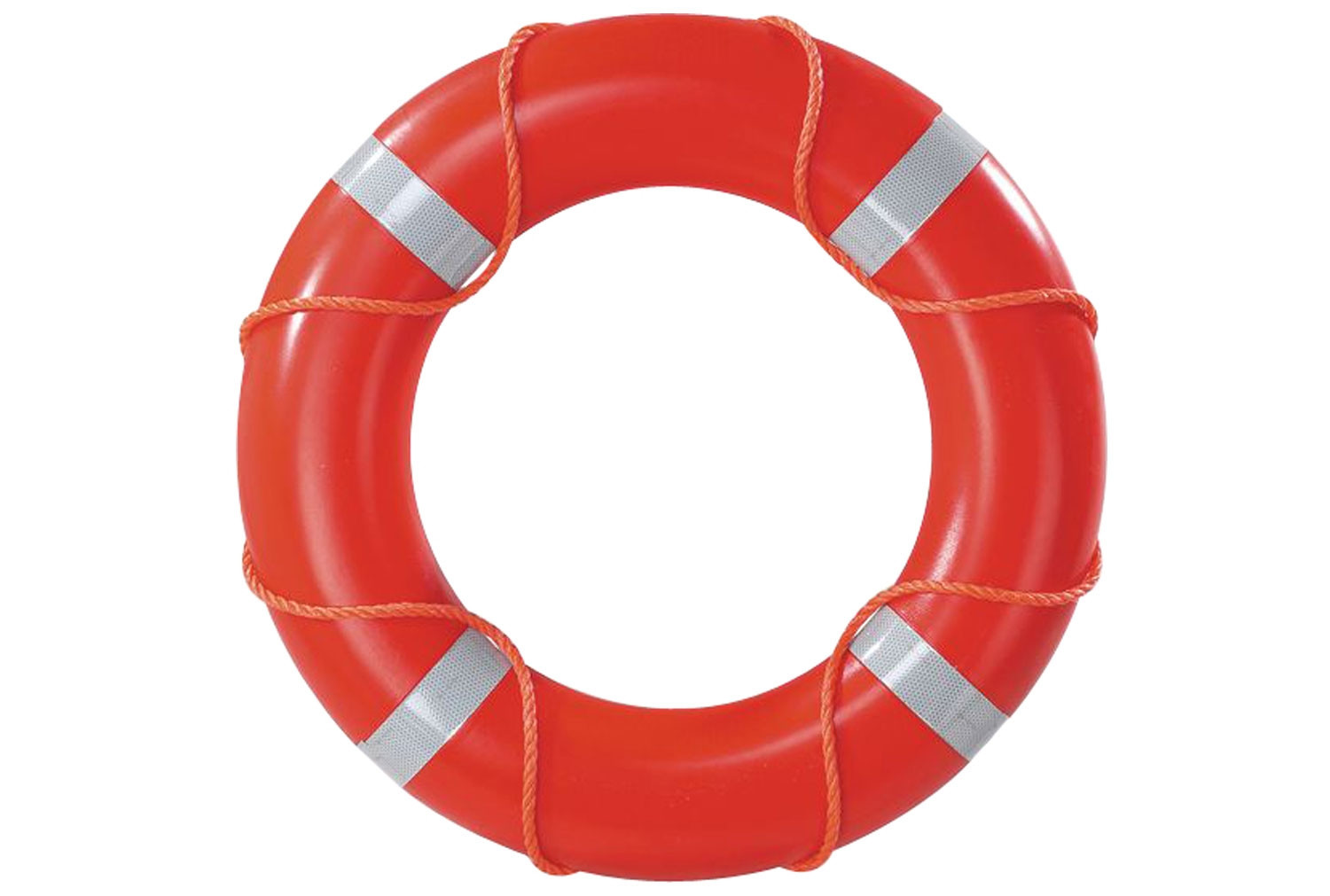 Lifebuoy With Reflective Tape (750mm)