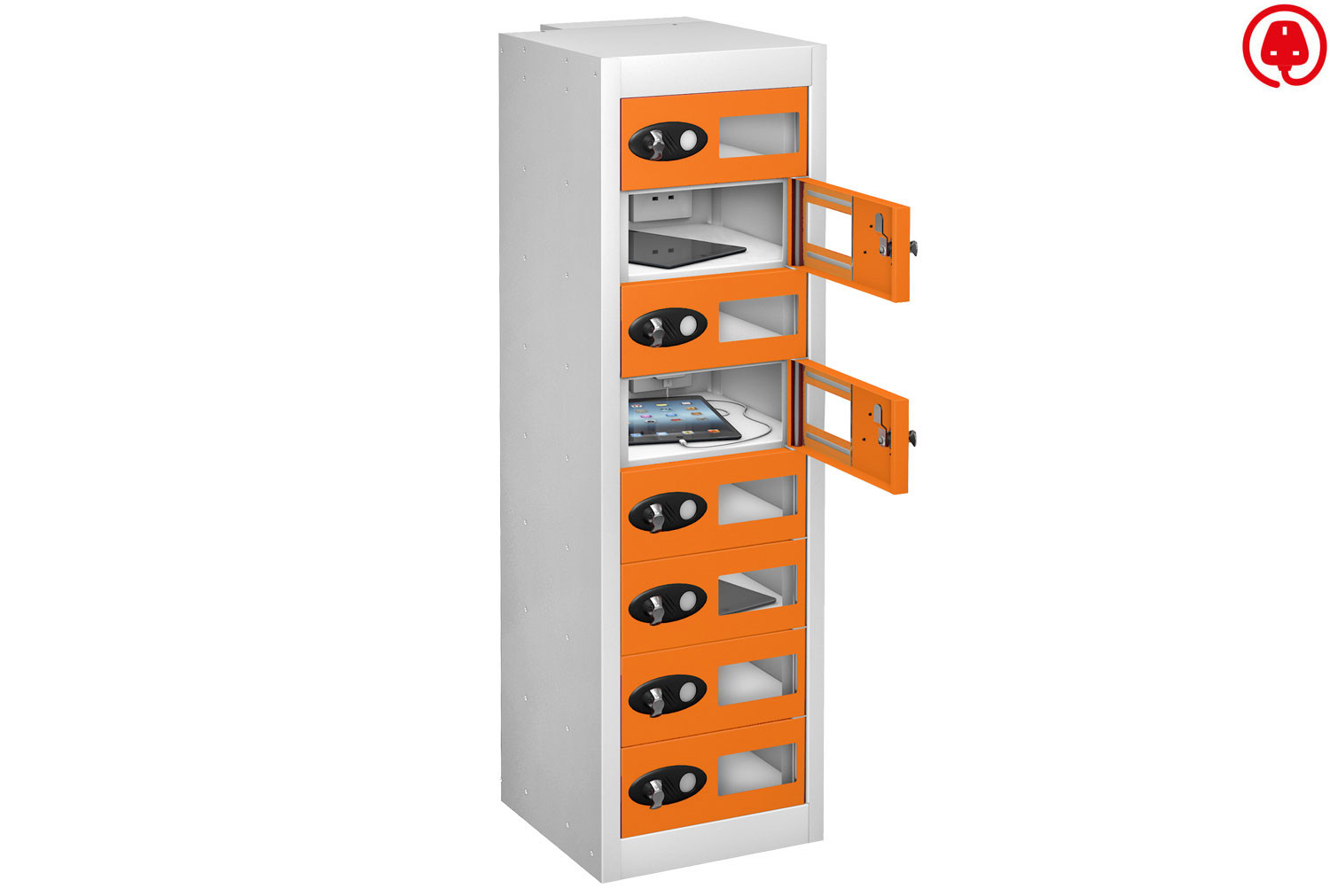 Probe Vision Panel Tablet Charging Lockers
