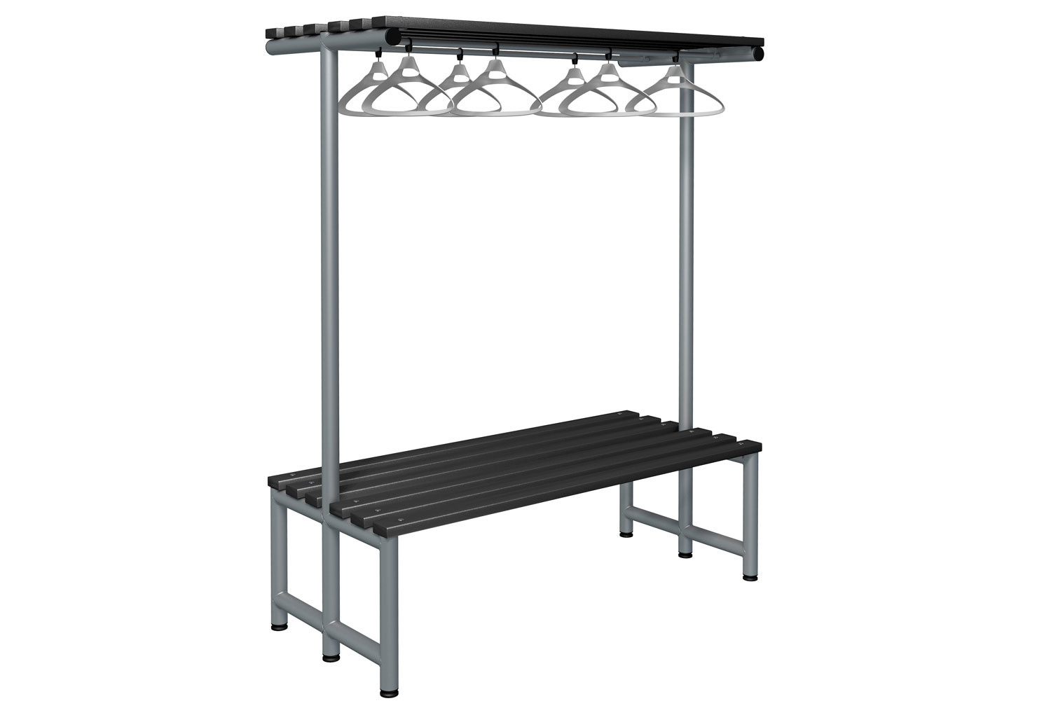 Probe Double Sided Overhead Hanging Bench (Black Polymer)