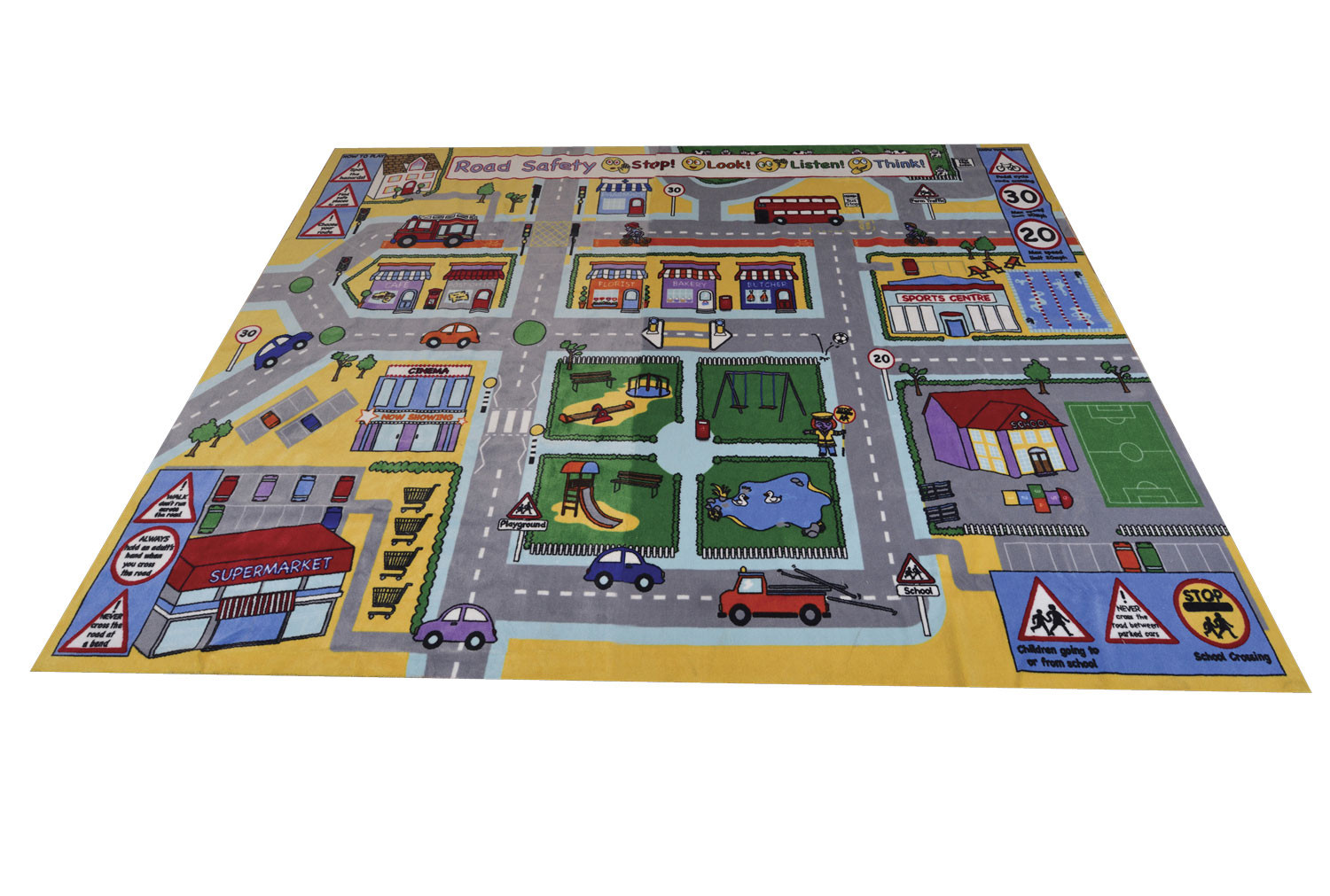 Road Safety Play Rug
