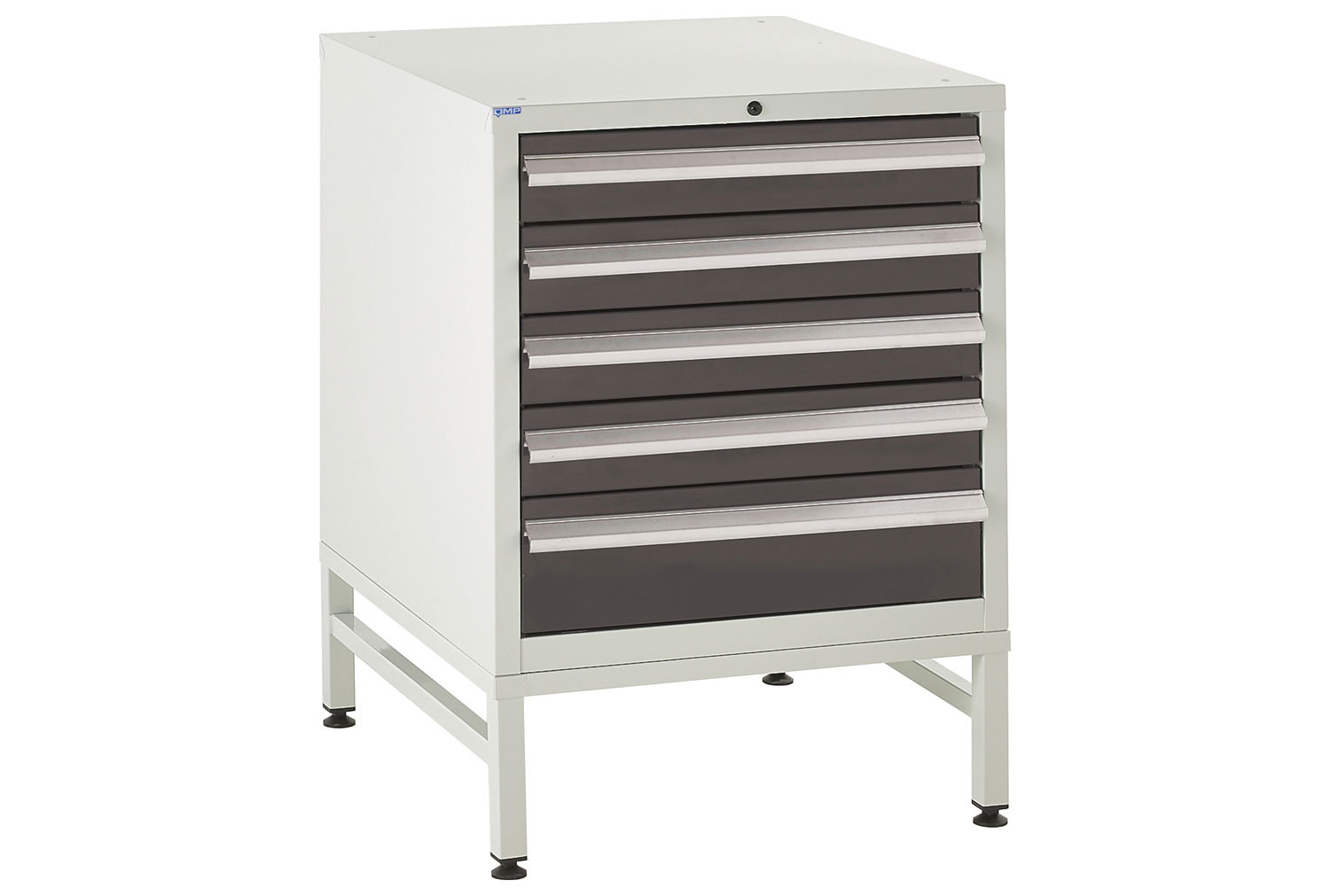 Euroslide 600 Under Bench 5 Drawer Cabinet With Stand 825h