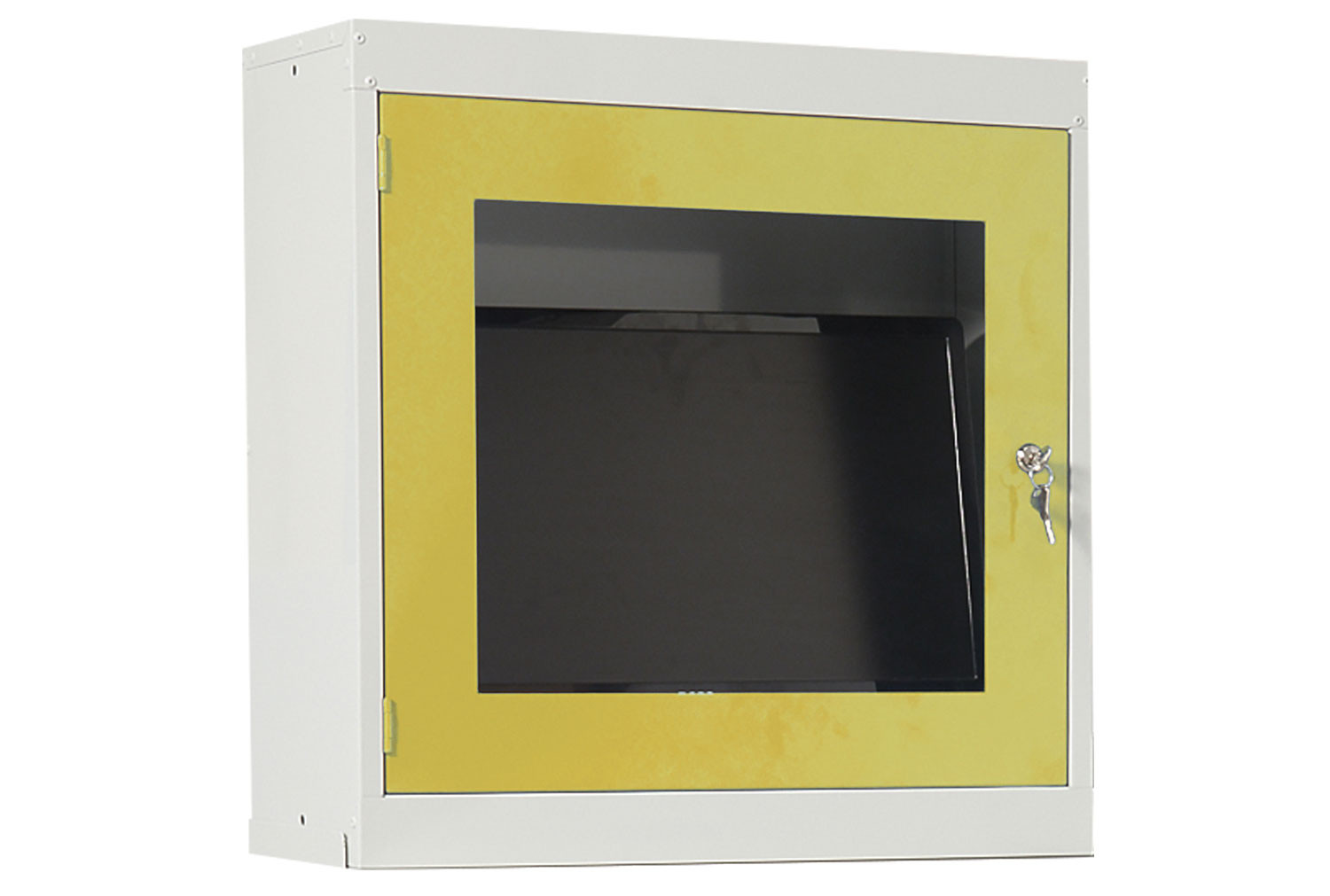Single Door It Workstation With Monitor Holder