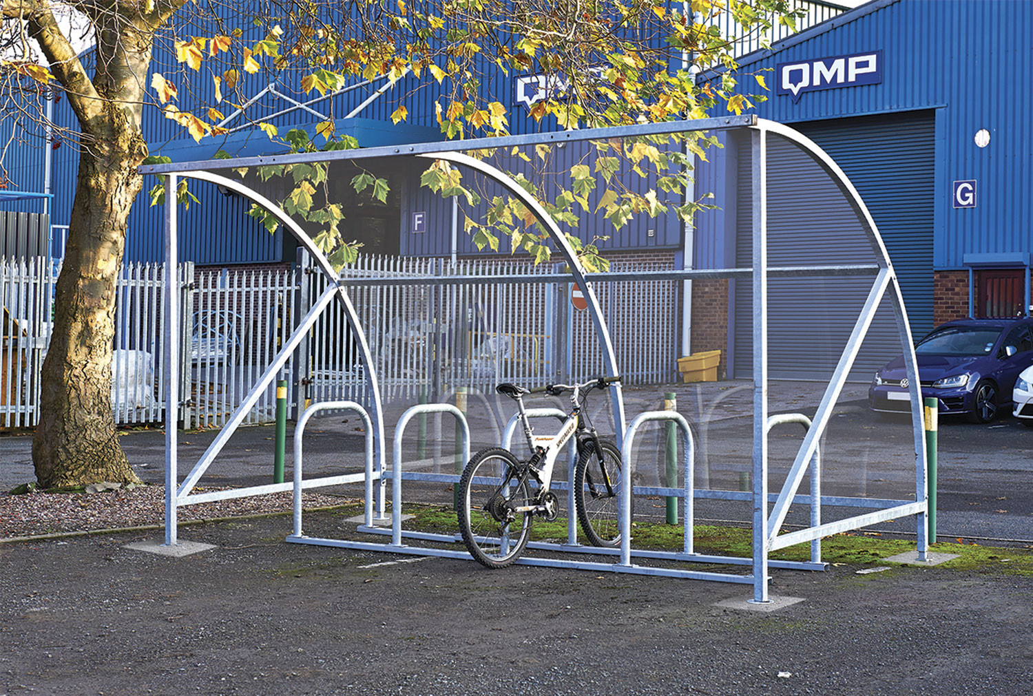 Dudley Cycle Shelter