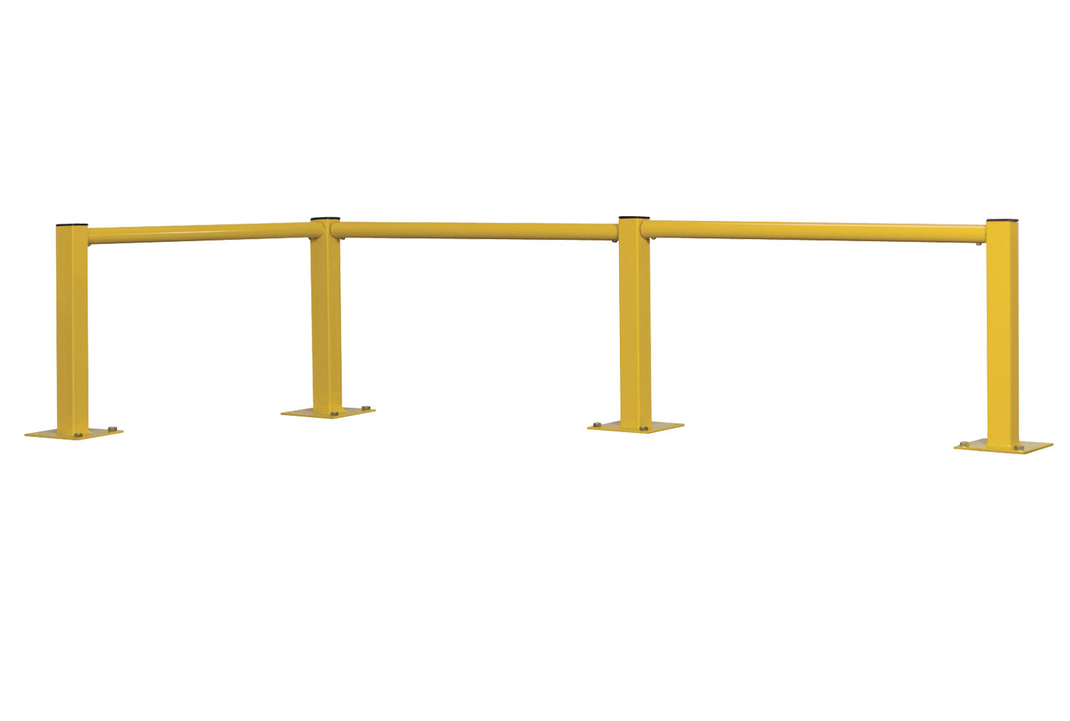 Single Round Tube Rail Barrier Posts