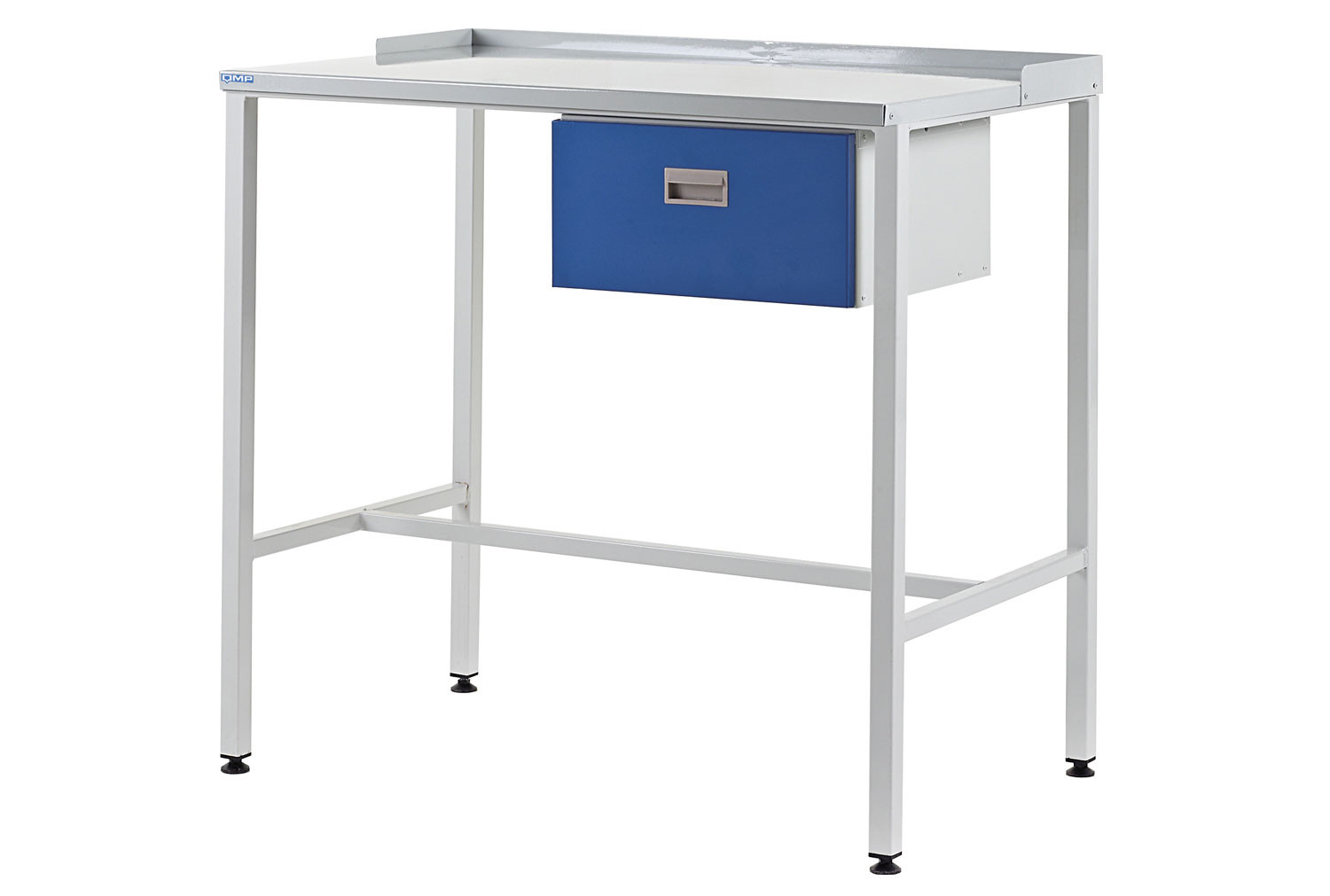 Team Leader Flat Top Workstation With Single Drawer