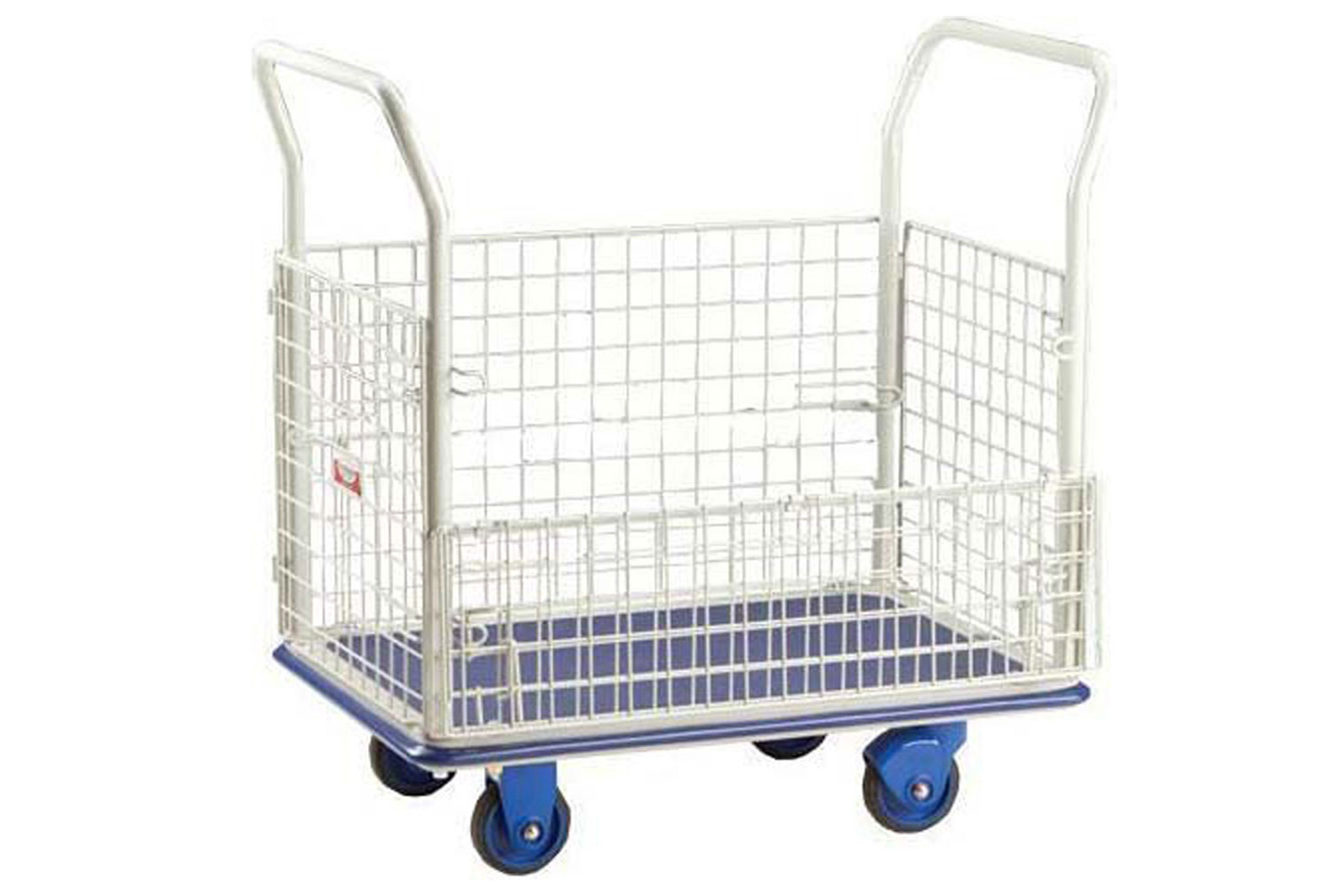 Mesh Container Trolley (300kg Capacity)