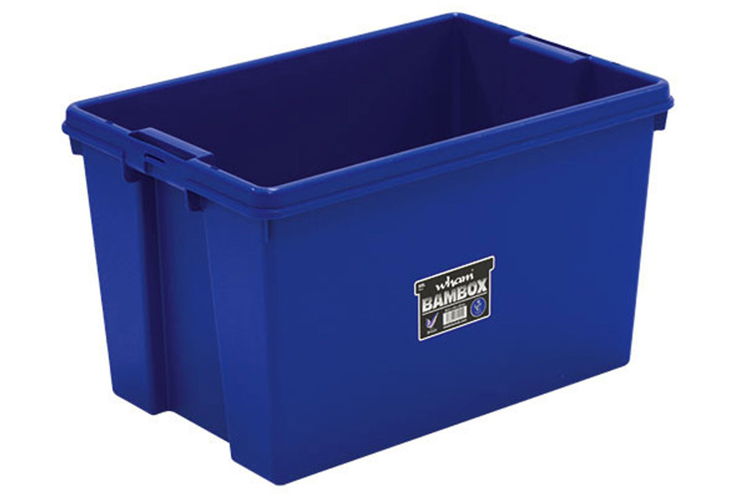 Wham Bam Heavy Duty Storage Box (62ltrs)