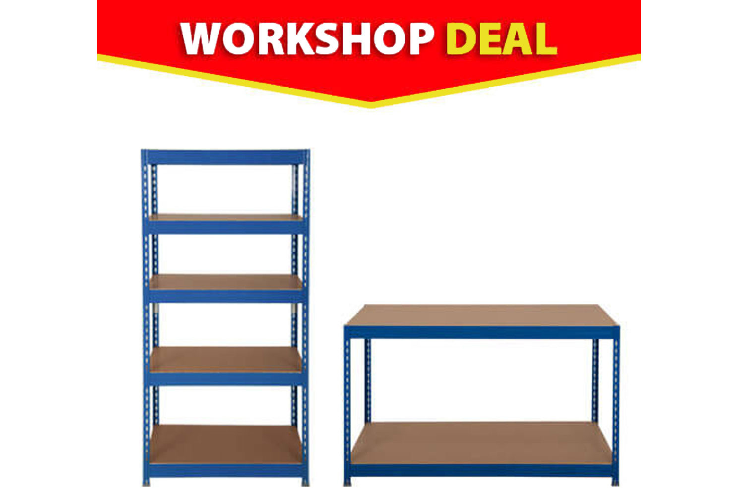 Small Business Budget Shelving Bundle Deal
