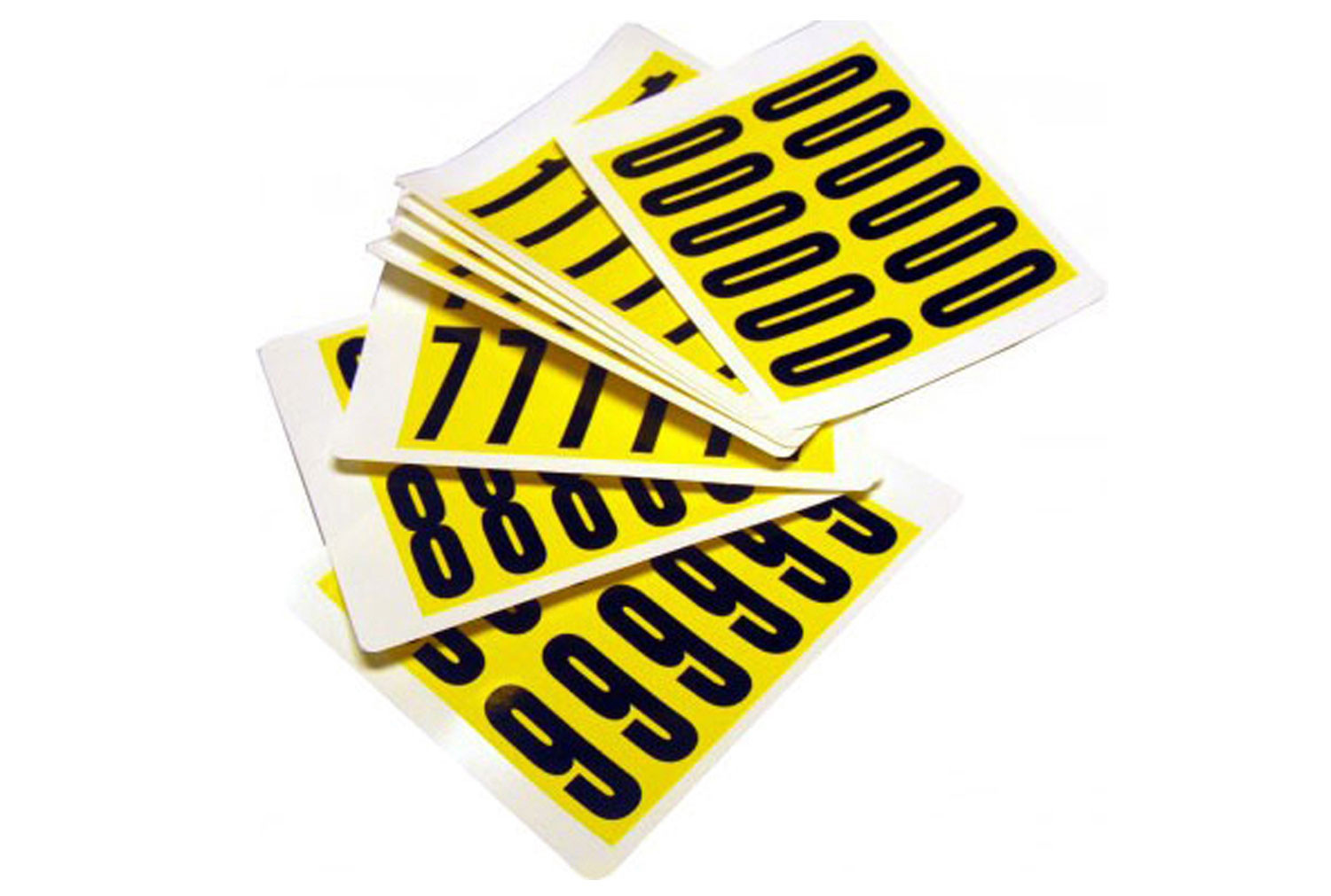 Self Adhesive Numbers 56mm High (Pack Of 12)