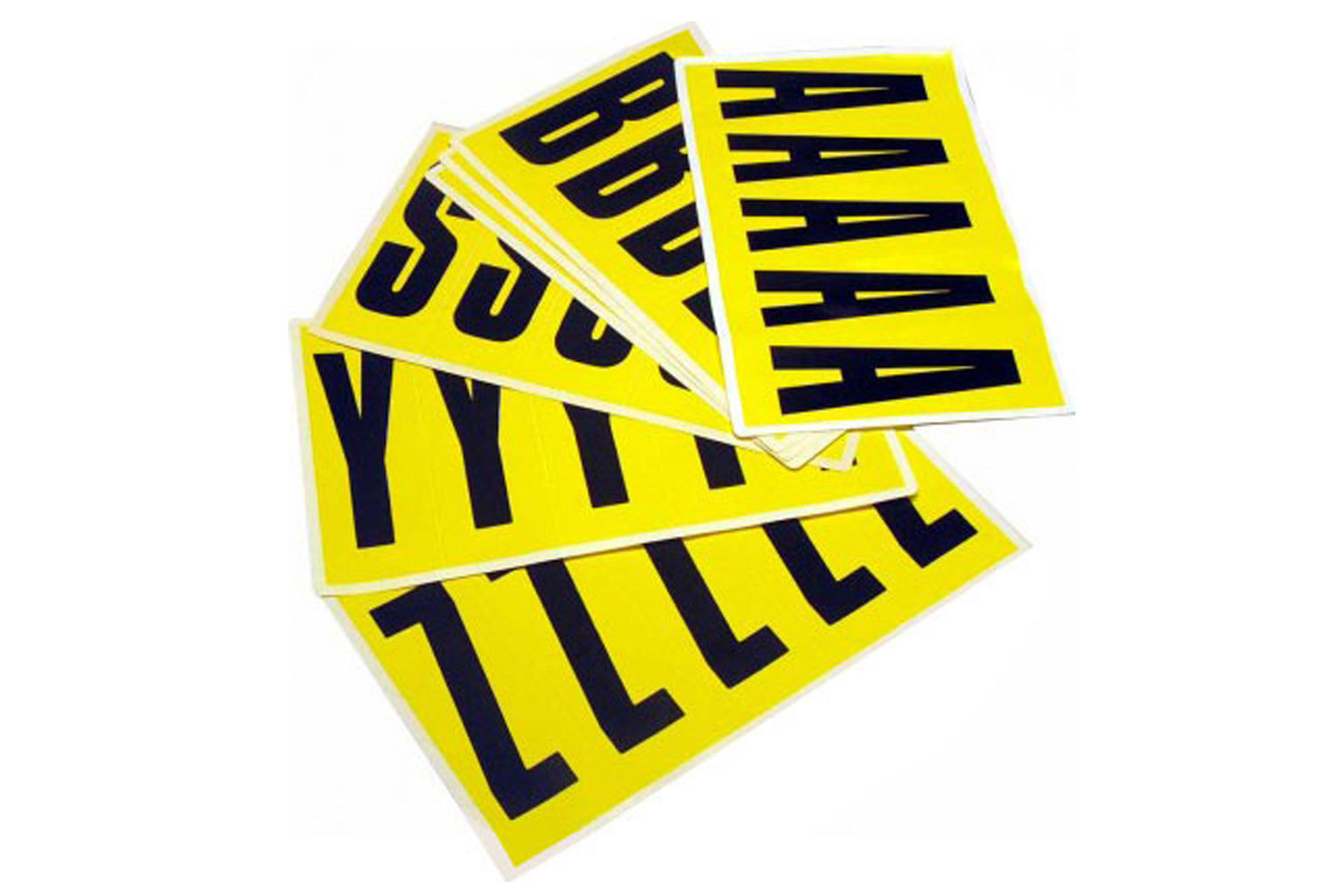 Self Adhesive Letters 130mm High (Pack Of 5)