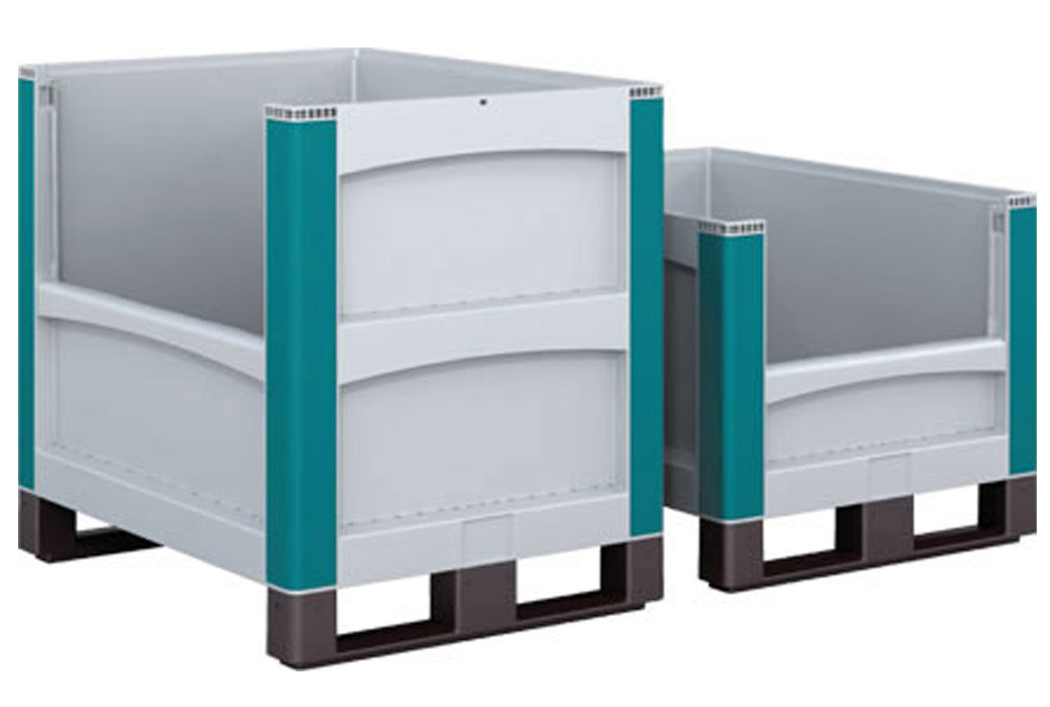 Heavy Duty Plastic Pallets With Pick Opening