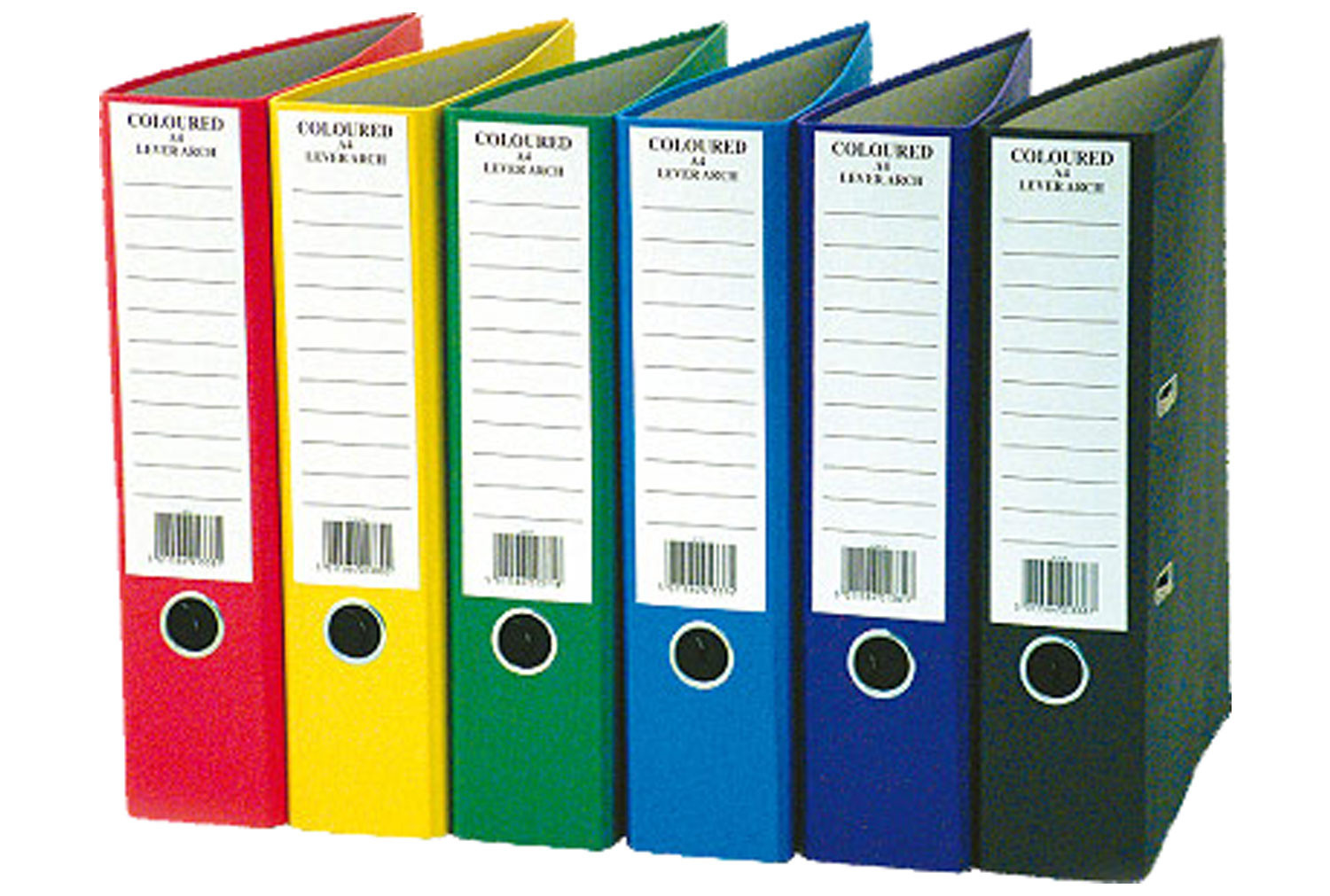 Pack Of 10 A4 Lever Arch Files