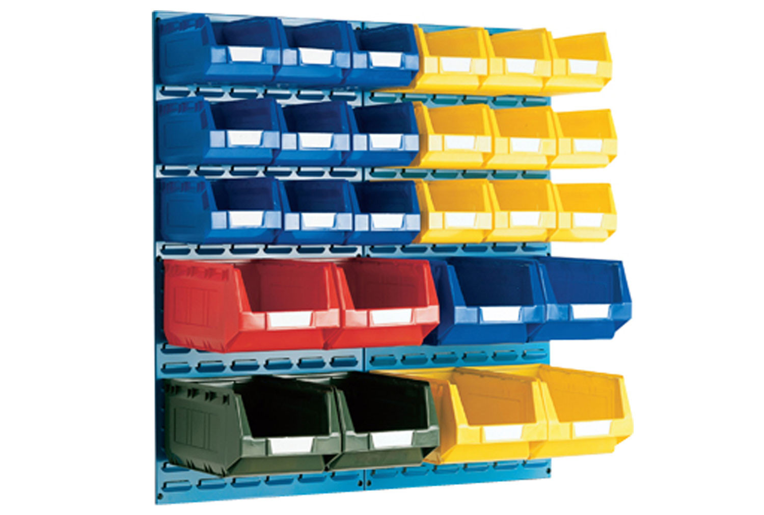 Louvre Panel Kit With 26 Bins