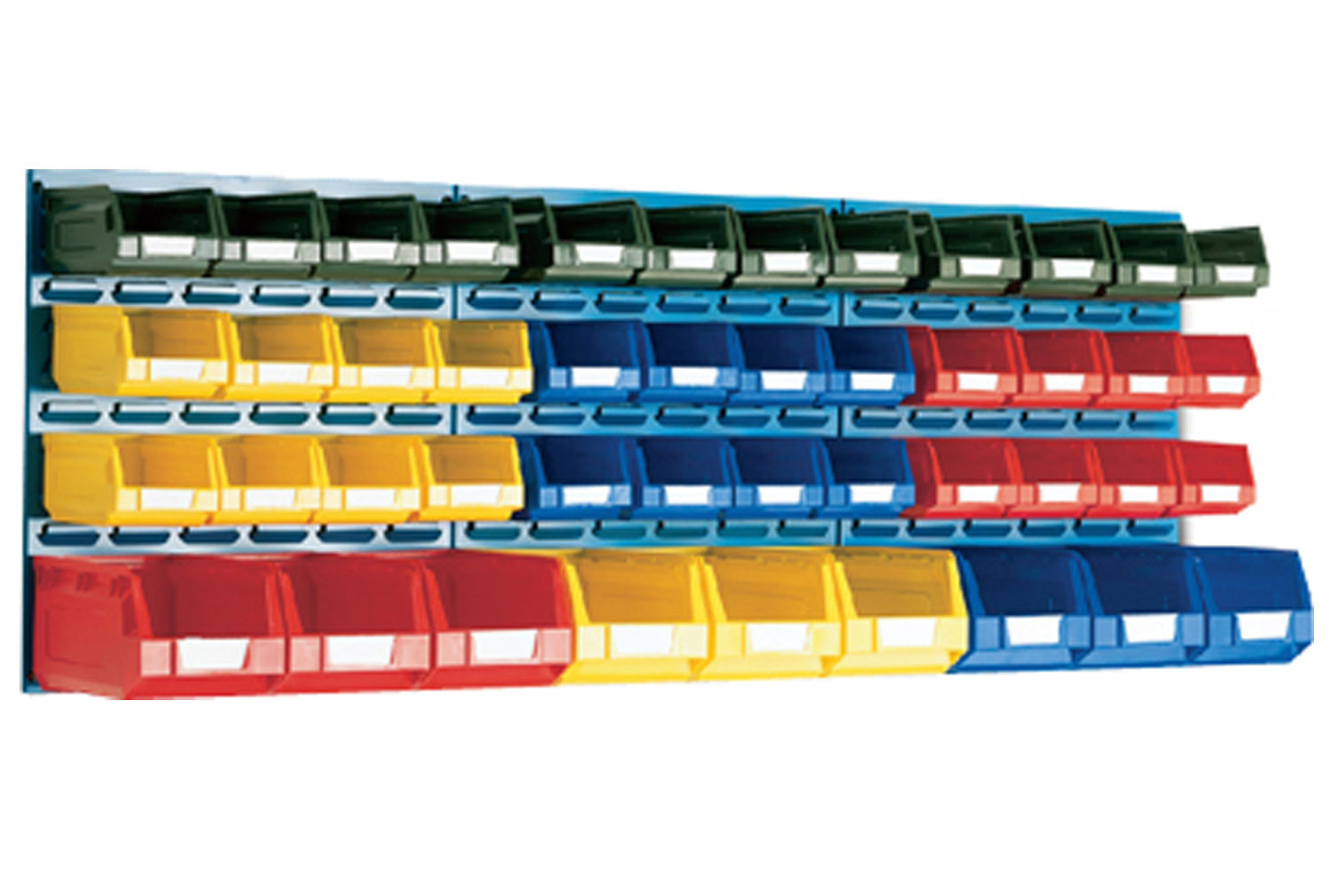 Louvre Panel Kit With 45 Bins