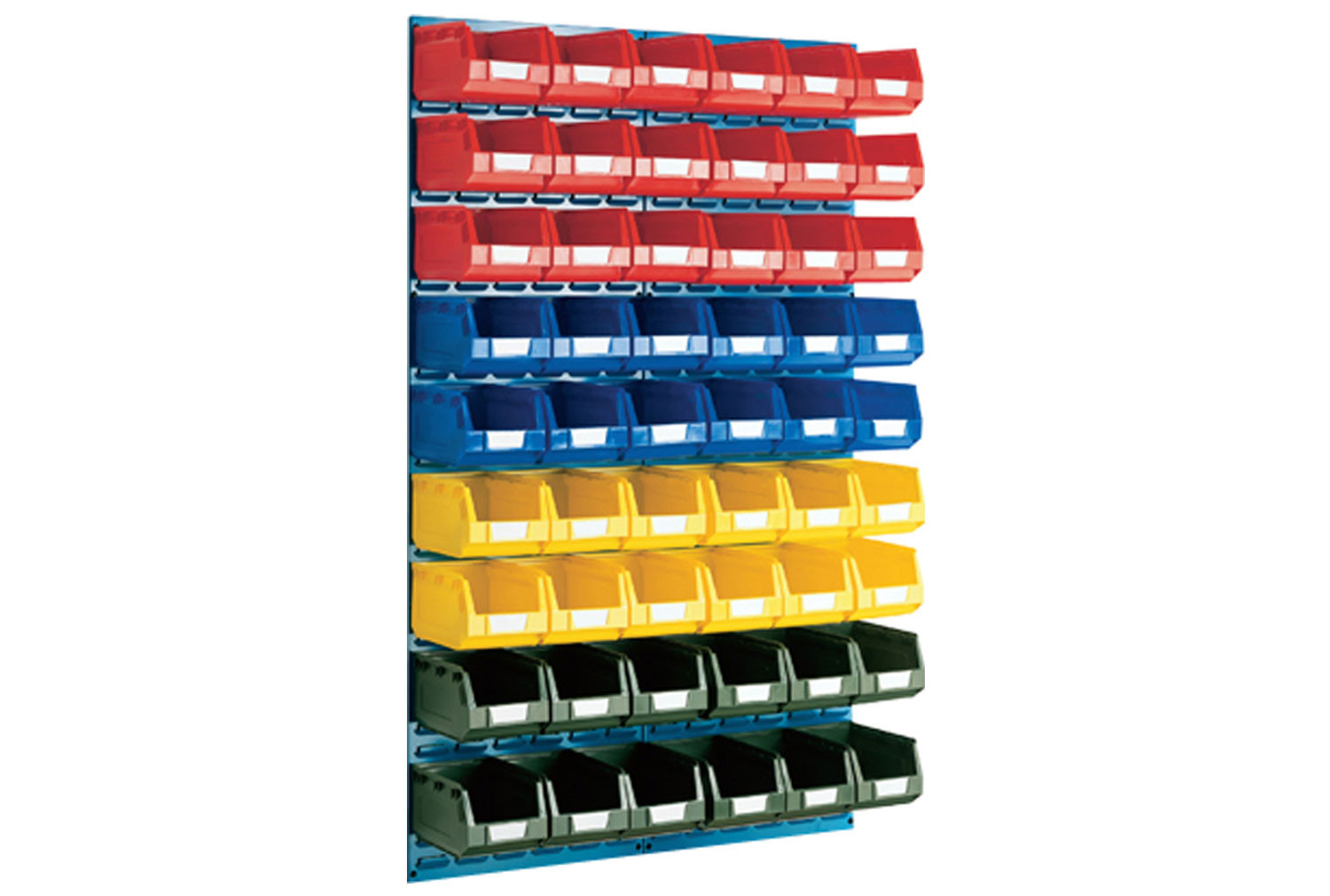 Louvre Panel Kit With 54 Bins
