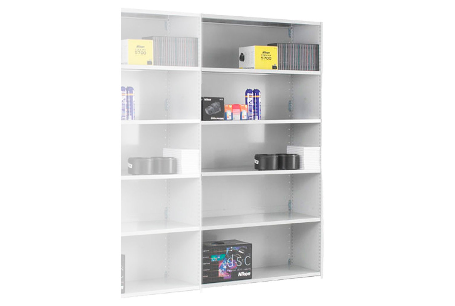 Stormor Solo Closed Back Shelving Add On Bay