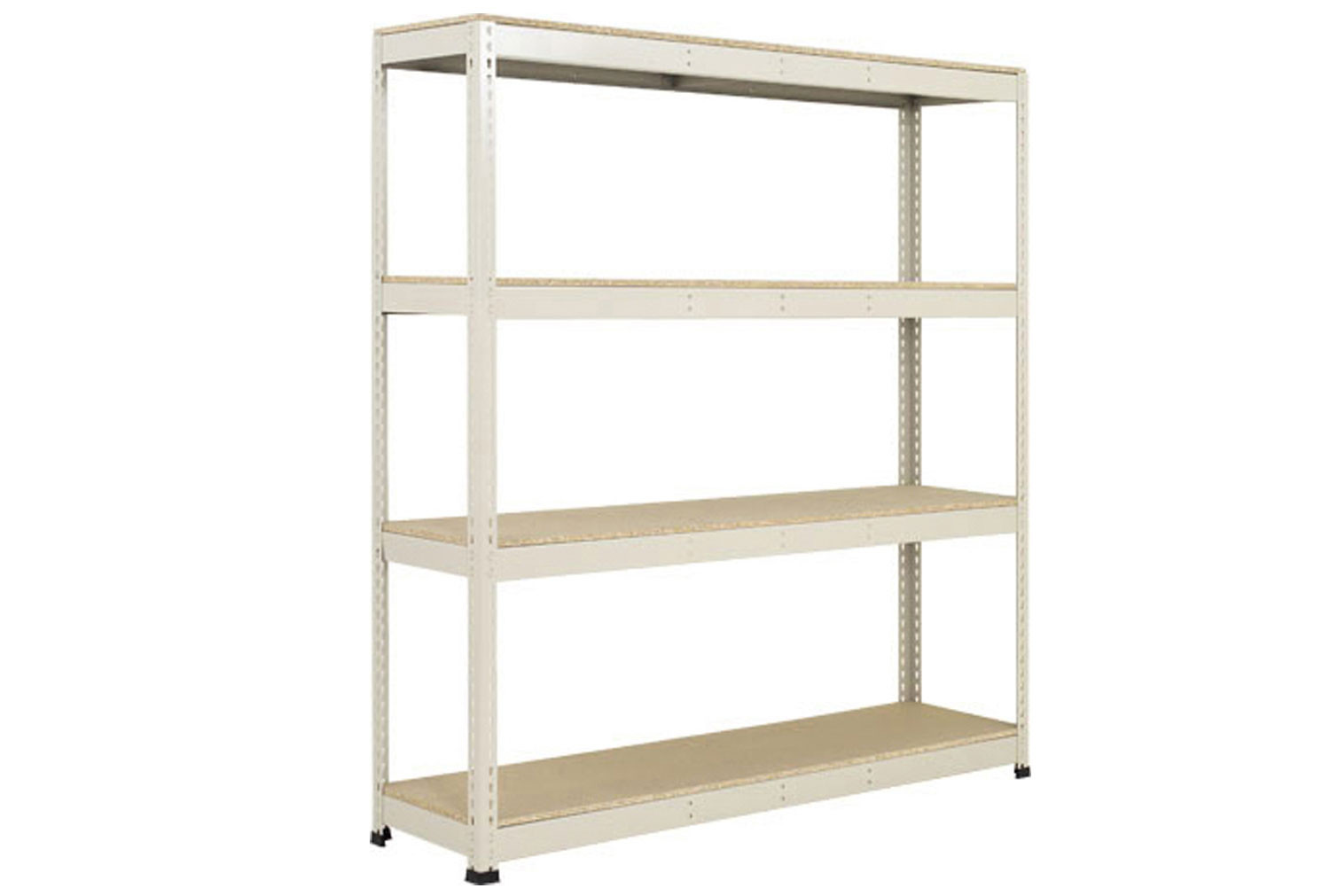 Rapid 1 Standard Shelving With 4 Chipboard Shelves 1525wx2440h (Grey)