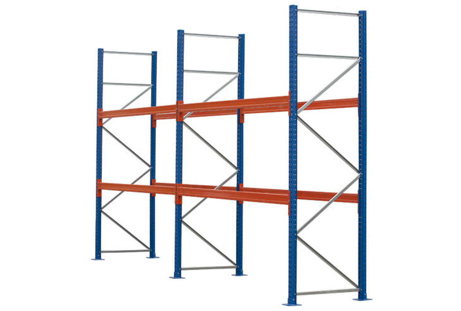 Pallet Racking Kit For 24 Pallets 5717wx4000h