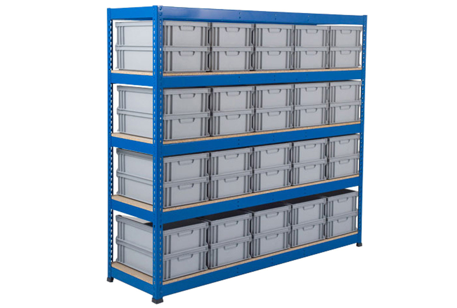 Rapid 1 Shelving With Euro Containers