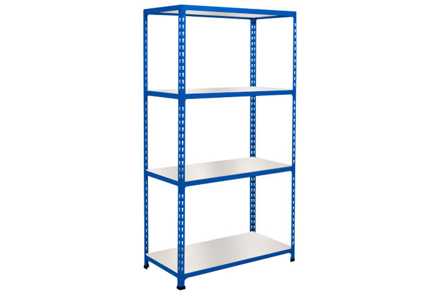 Rapid 2 Shelving With 4 Melamine Shelves 915wx1600h (Blue)