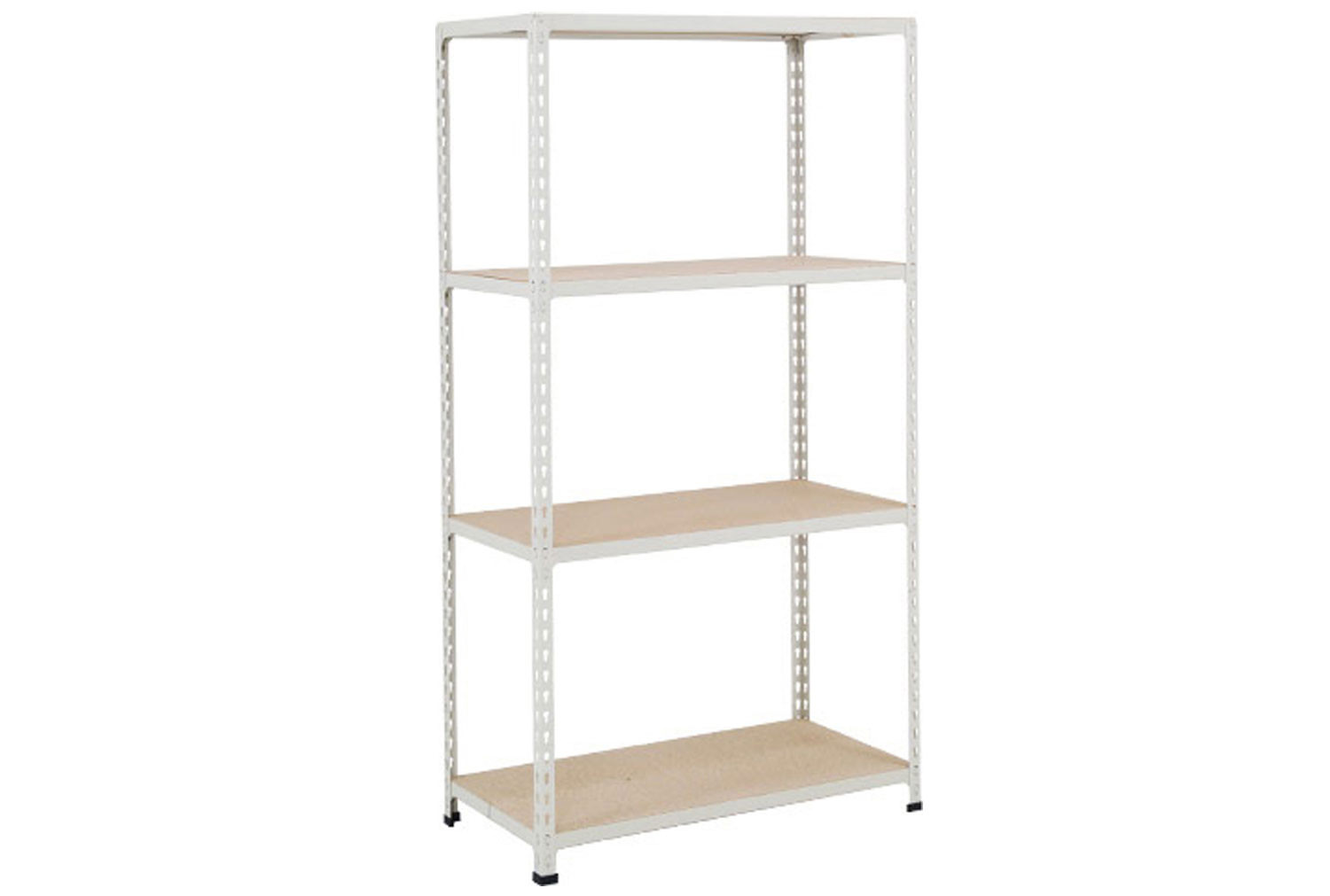 Rapid 2 Shelving With 4 Chipboard Shelves 915wx1600h (Grey)