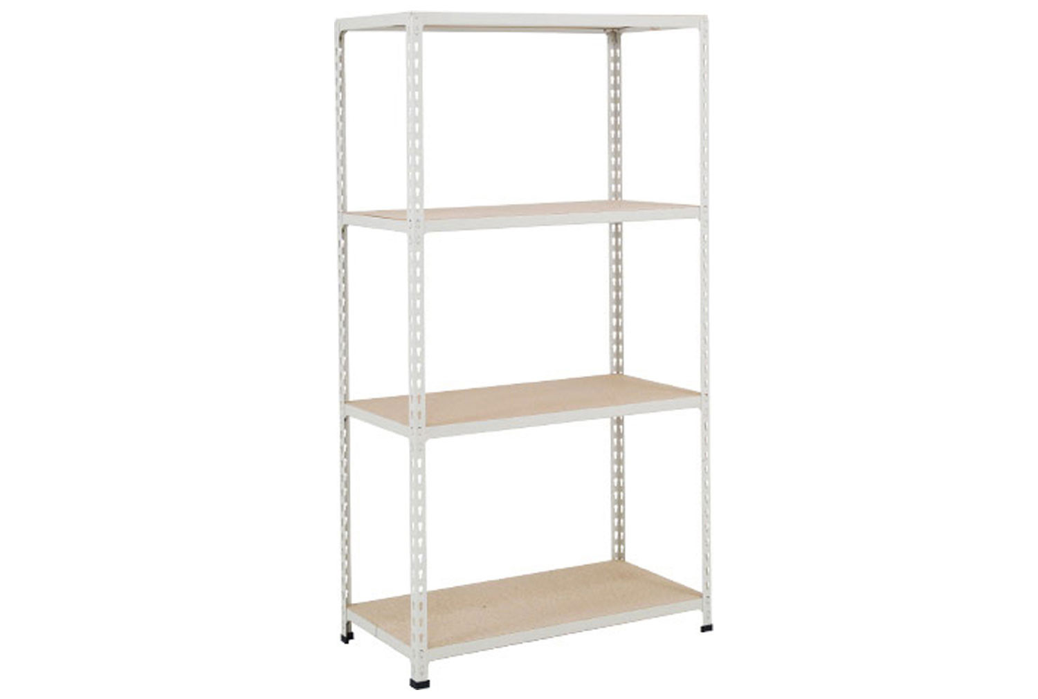 Rapid 2 Shelving With 4 Chipboard Shelves 1220wx1600h (Grey)