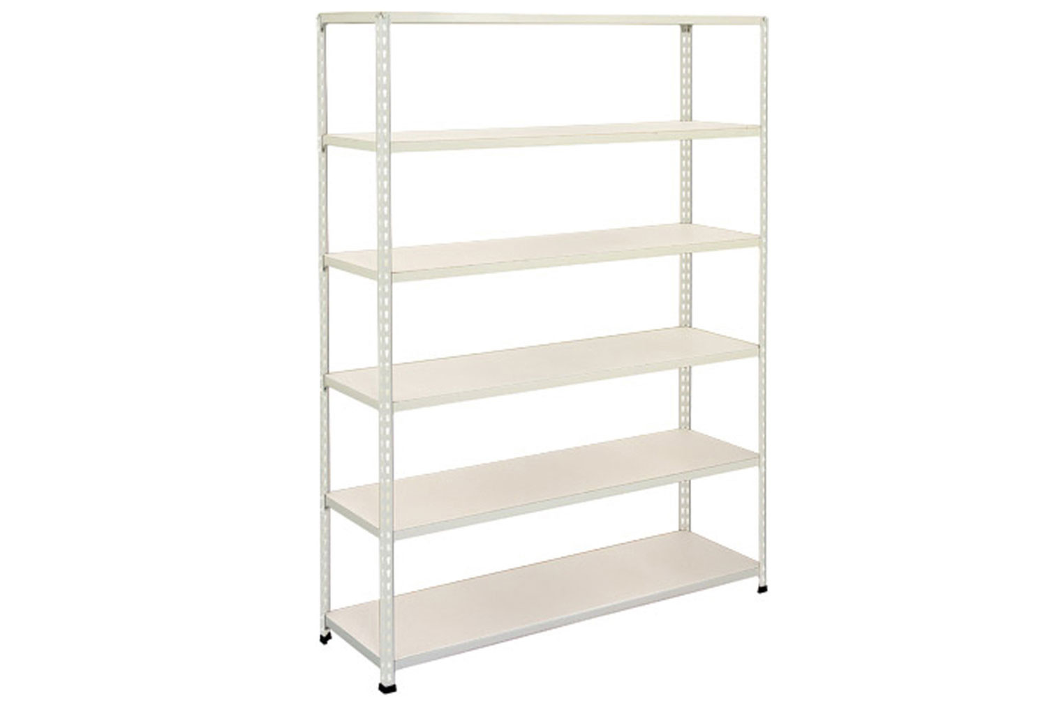 Rapid 2 Shelving With 6 Melamine Shelves 1525wx1600h (Grey)