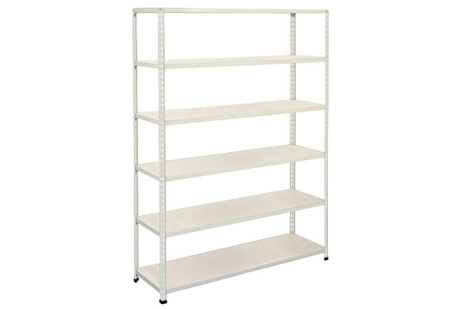 Rapid 2 Shelving With 6 Melamine Shelves 1220wx1980h (Grey)