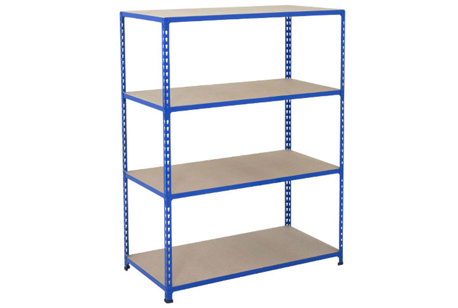 Rapid 2 Shelving With 4 Chipboard Shelves 1525wx1980h (Blue)