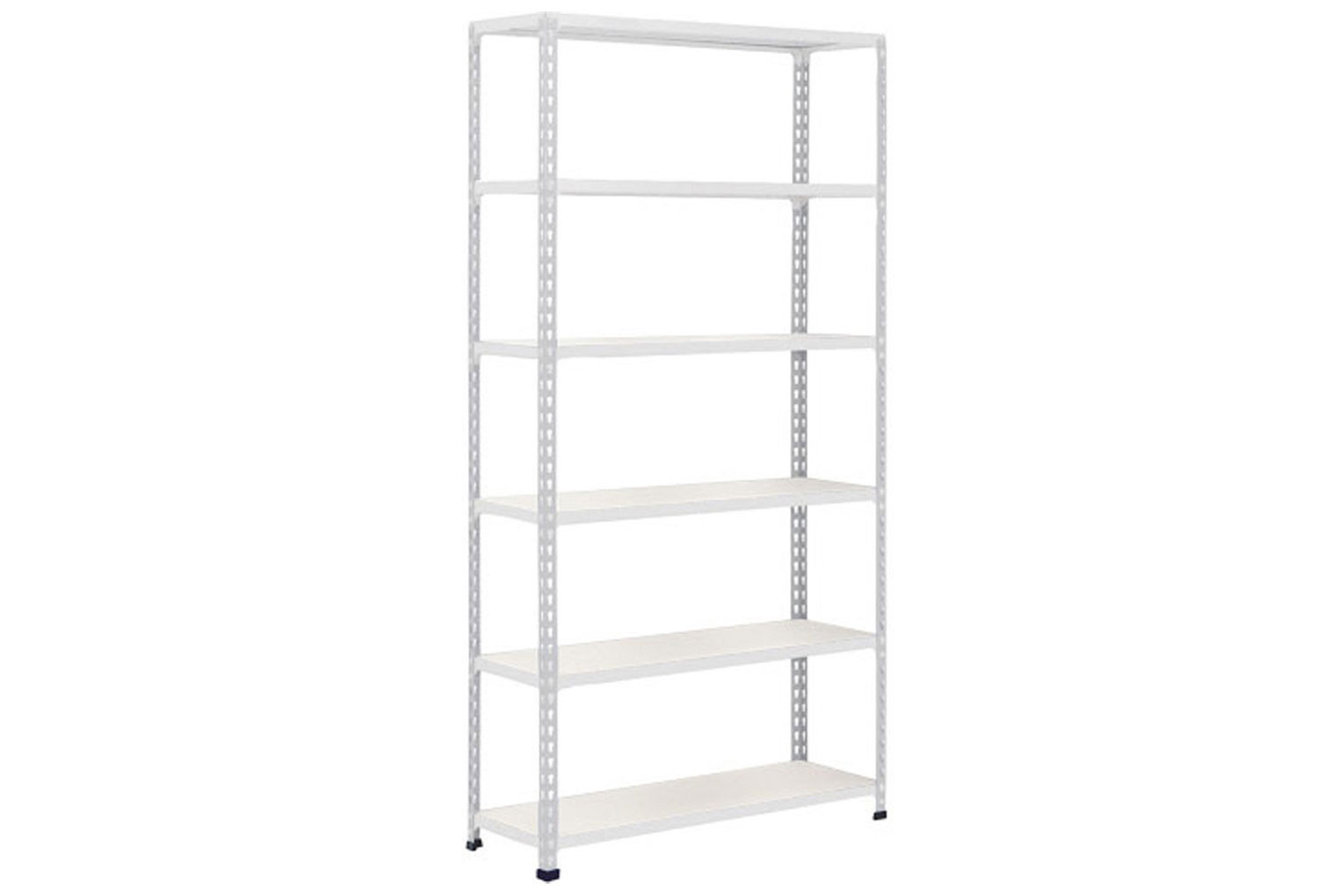 Rapid 2 Shelving With 6 Melamine Shelves 915wx2440h (Grey)