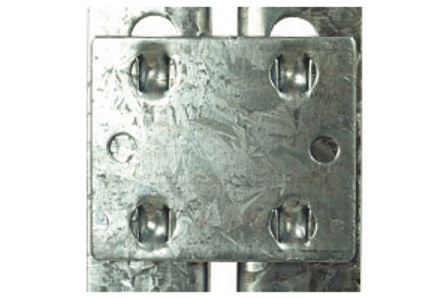 Steel Tie Plates For Rapid 2 Shelving