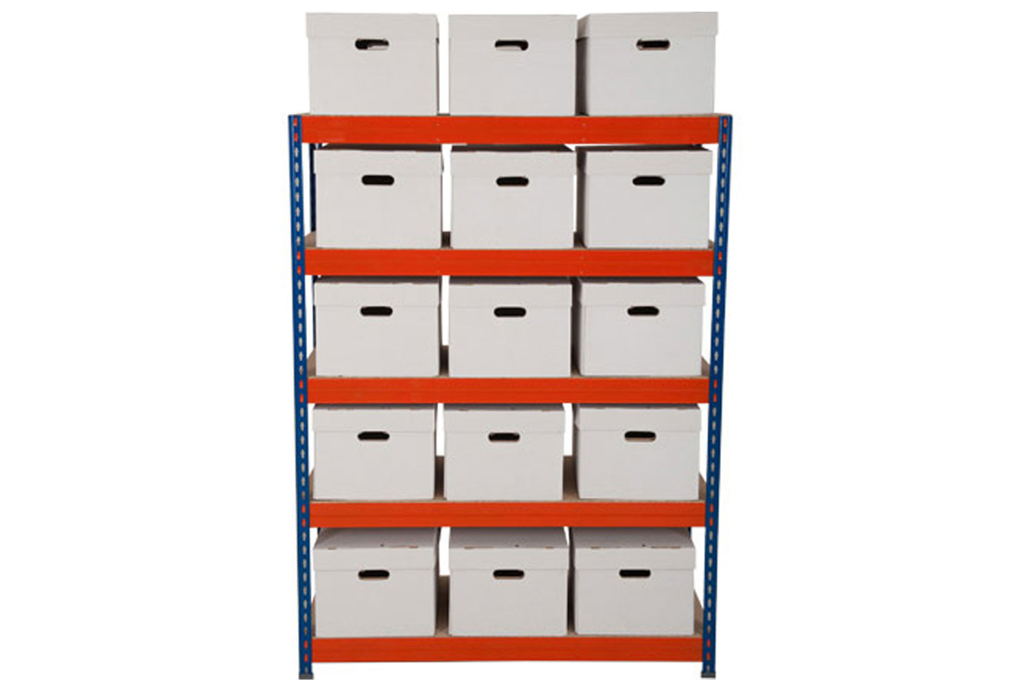 Rapid 3 Archive Storage Bay With 15 Boxes
