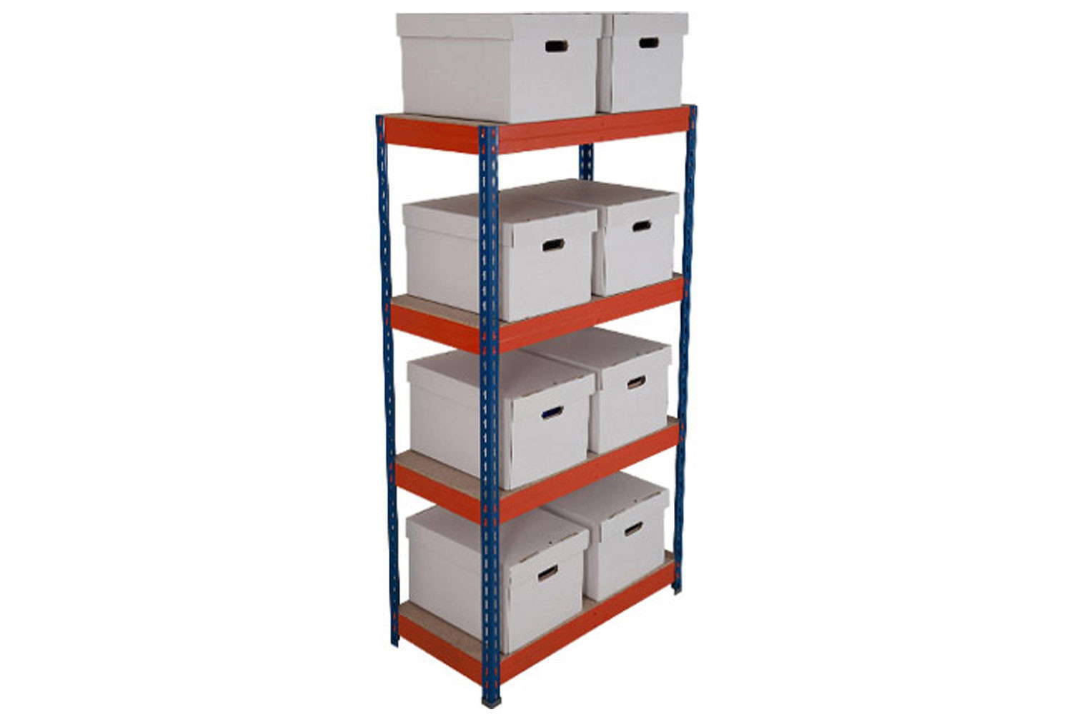 Rapid 3 Archive Storage Bay With 8 Boxes