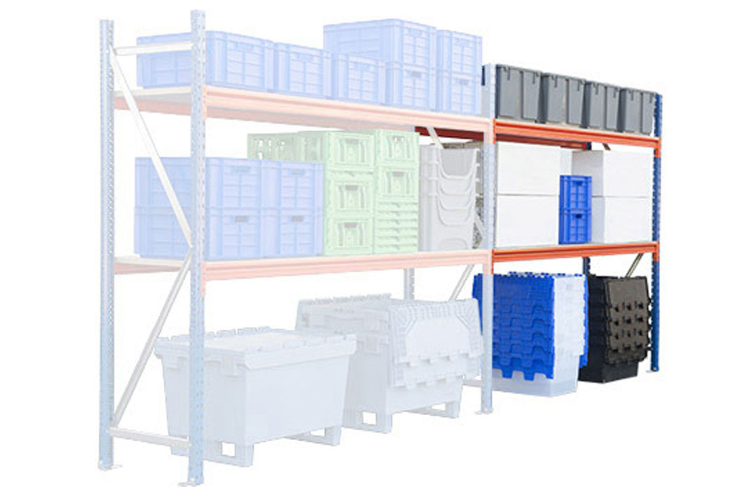 Rapid Span Standard Shelving Add On Bay