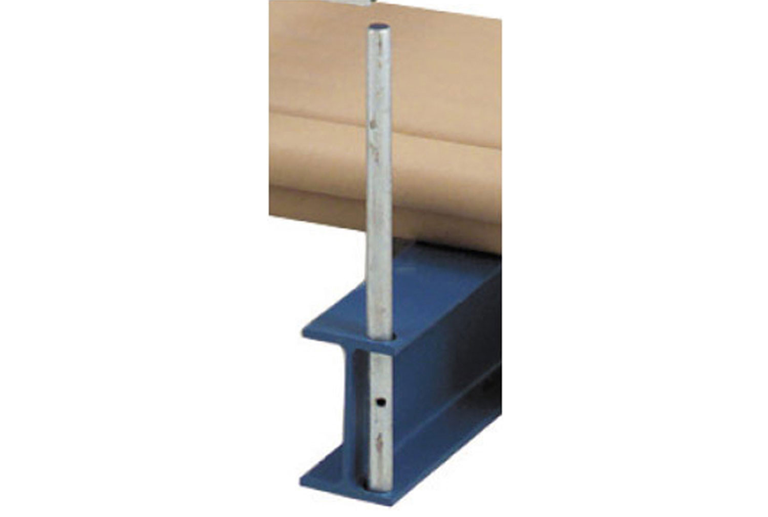 Base End Stop For Heavy Duty Bar Cradle