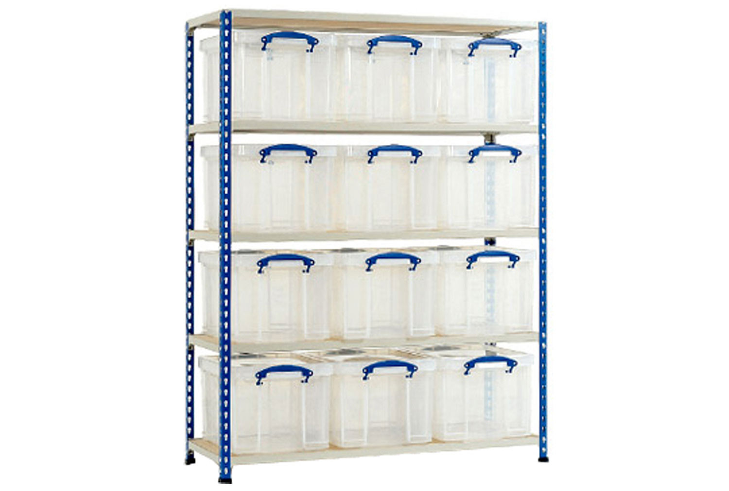 Rapid 2 Storage Bay With 12 x 35 Litre Really Useful Boxes