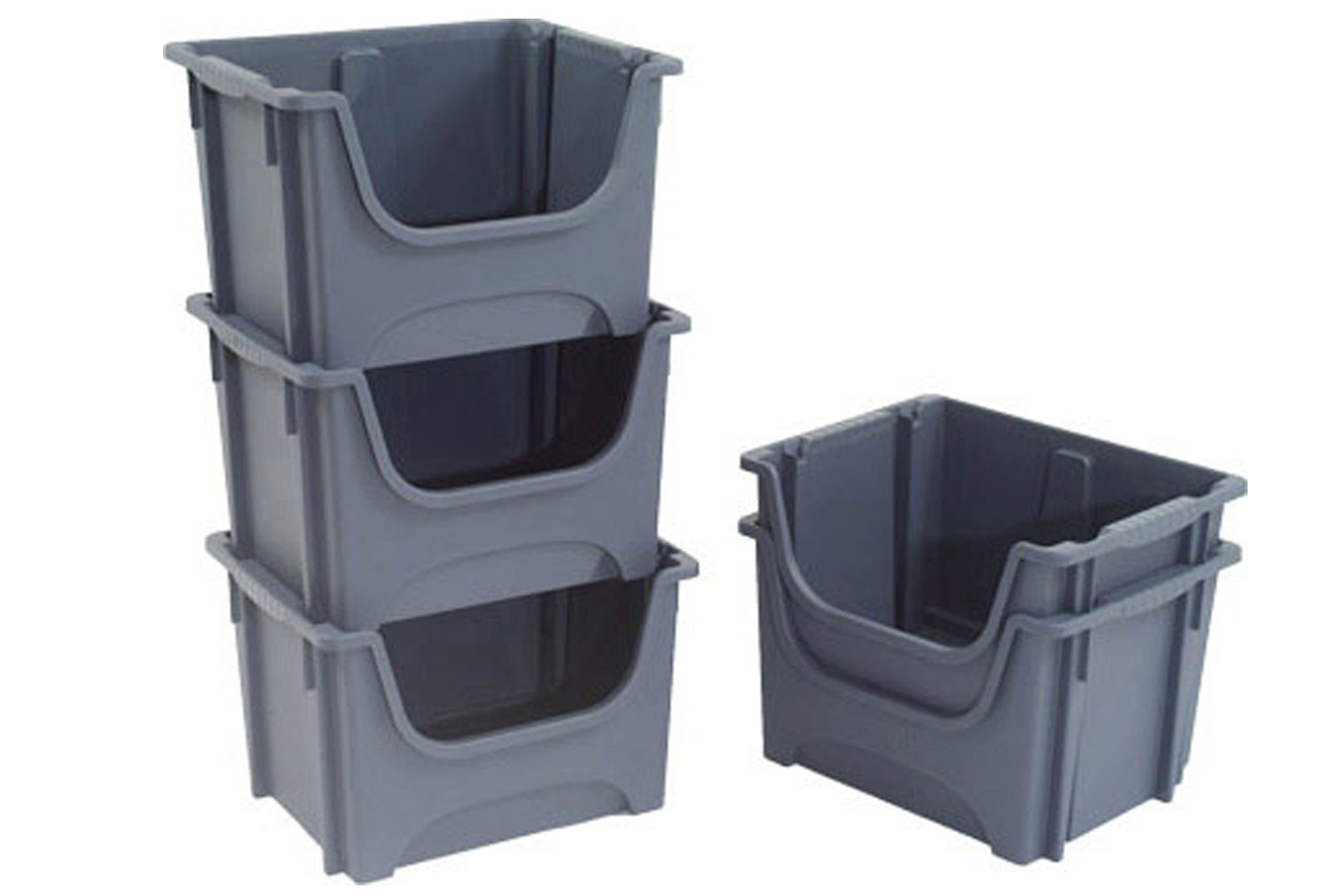 Pickmaster Storage Containers 5 Pack (50ltrs)