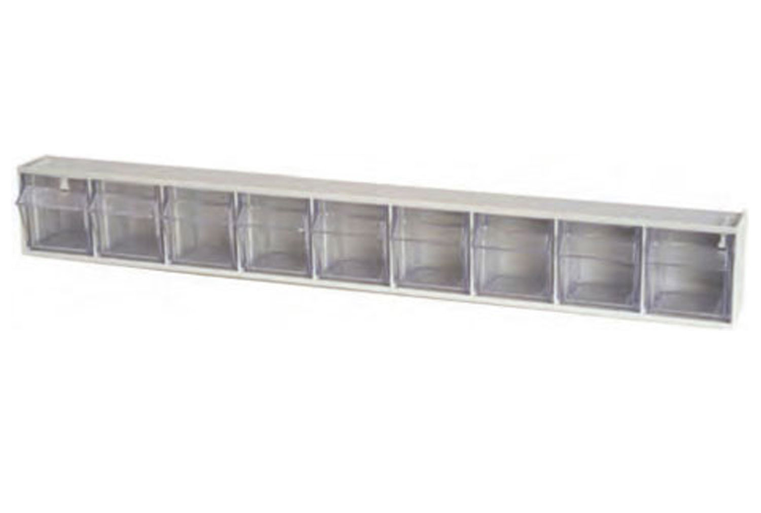 Tilted Front Storage Bins With 9 Sections