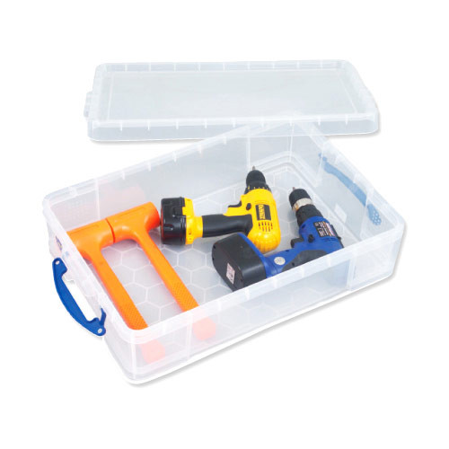 24.5ltr Really Useful Box (Clear)