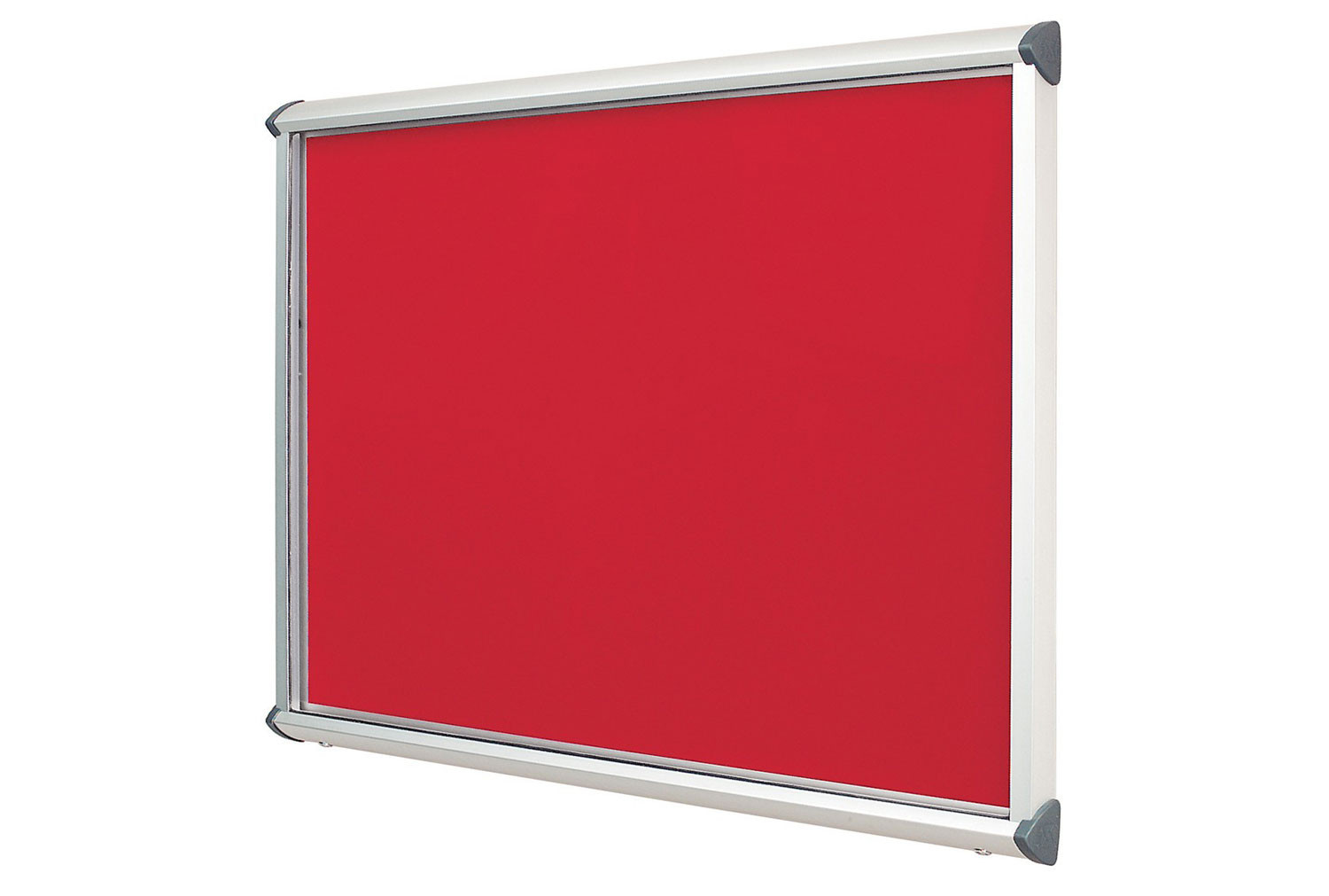 Shield Aluminium Frame Showcase With Top Hinged Doors